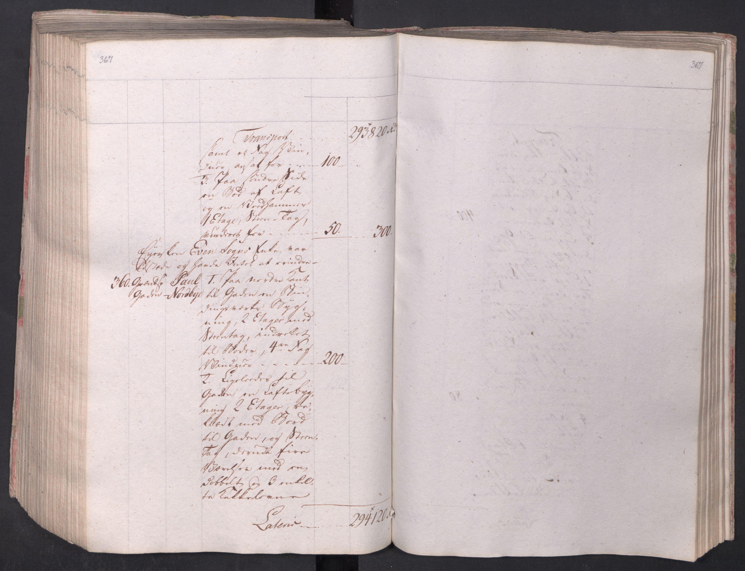 SAO, Kristiania stiftamt, I/Ia/L0015: Branntakster, 1797, s. 367