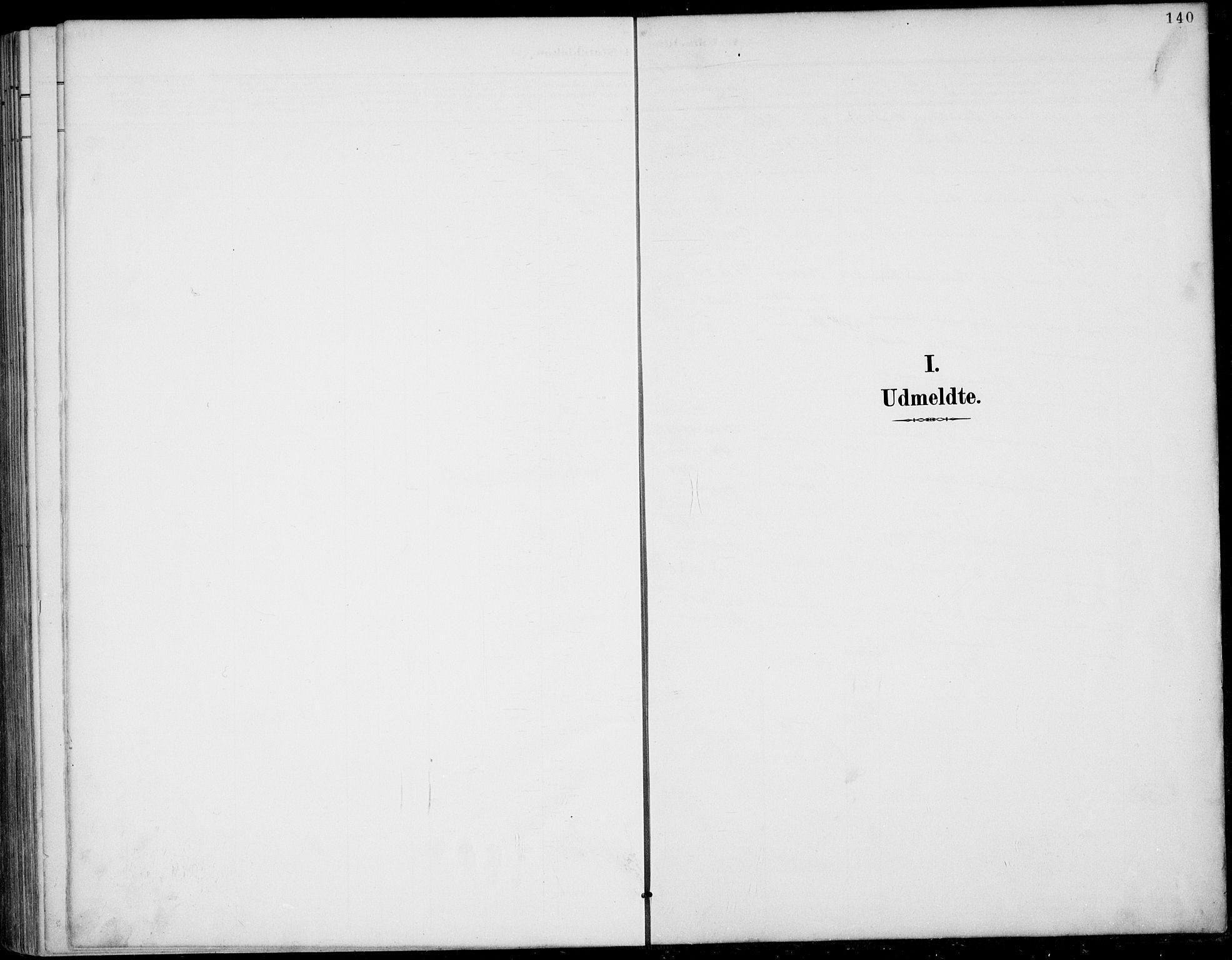 SAKO, Rauland kirkebøker, G/Gb/L0002: Klokkerbok nr. II 2, 1887-1937, s. 140