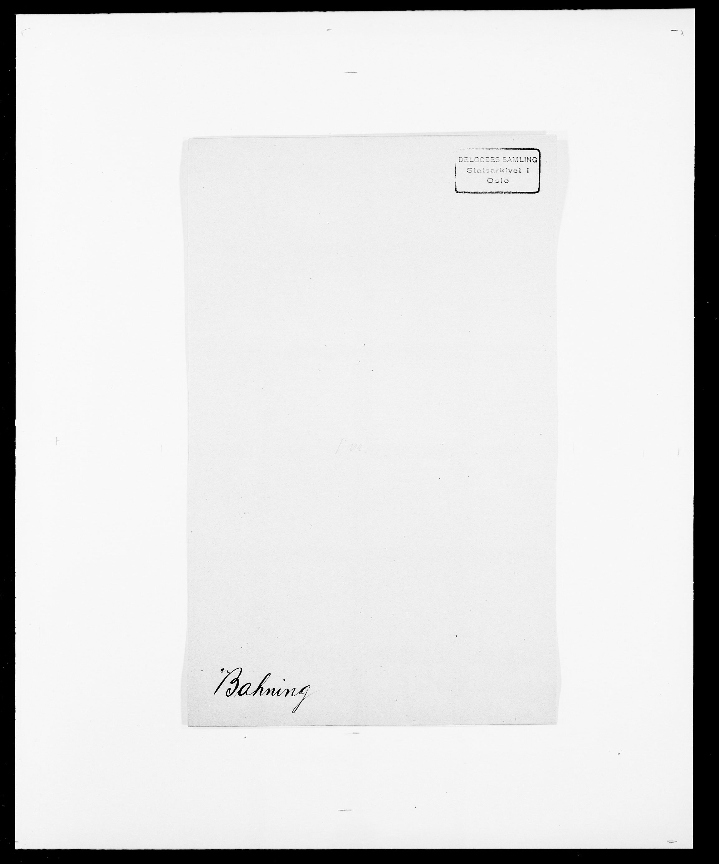 SAO, Delgobe, Charles Antoine - samling, D/Da/L0003: Barca - Bergen, s. 135