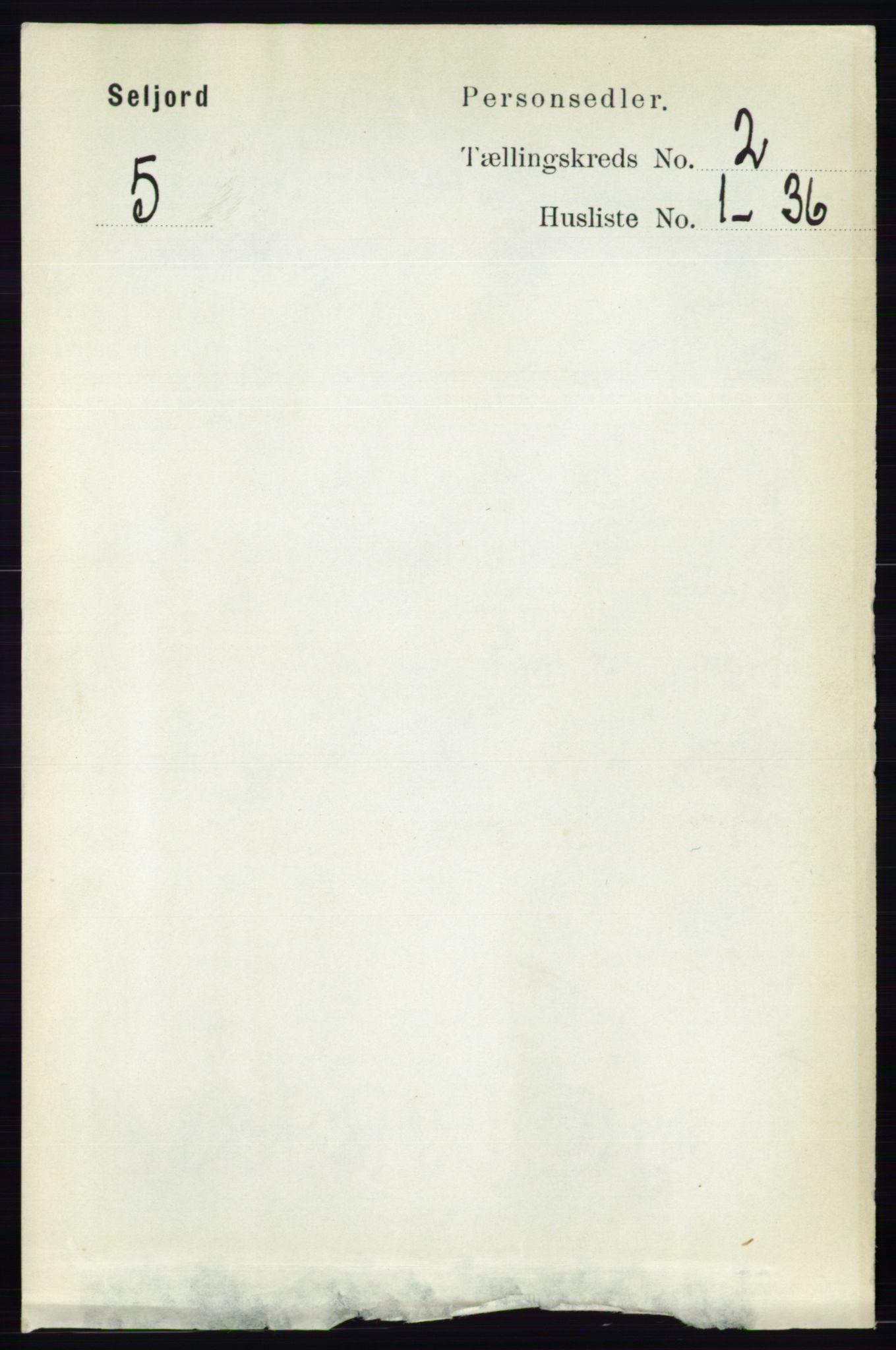 RA, Folketelling 1891 for 0828 Seljord herred, 1891, s. 570