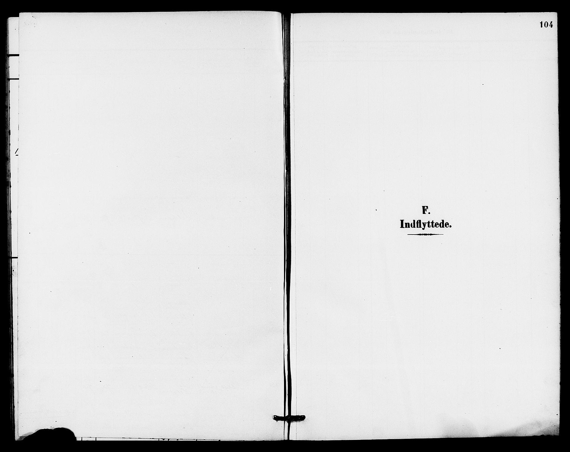 SAKO, Holla kirkebøker, G/Gb/L0002: Klokkerbok nr. II 2, 1897-1913, s. 104