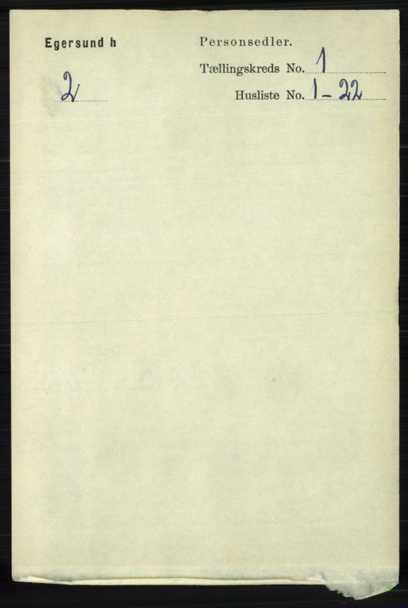 RA, Folketelling 1891 for 1116 Eigersund herred, 1891, s. 65