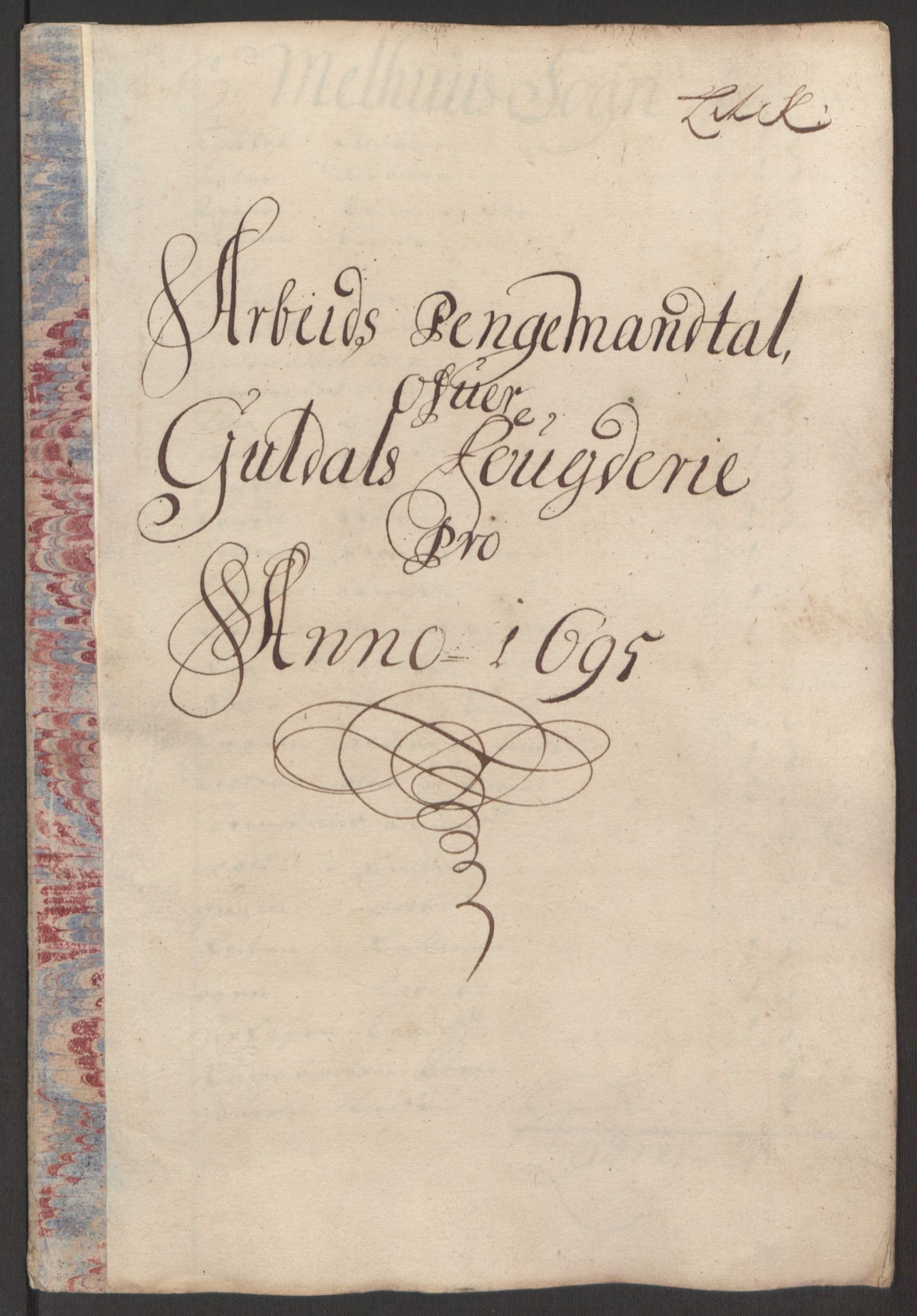 RA, Rentekammeret inntil 1814, Reviderte regnskaper, Fogderegnskap, R60/L3945: Fogderegnskap Orkdal og Gauldal, 1695, s. 376