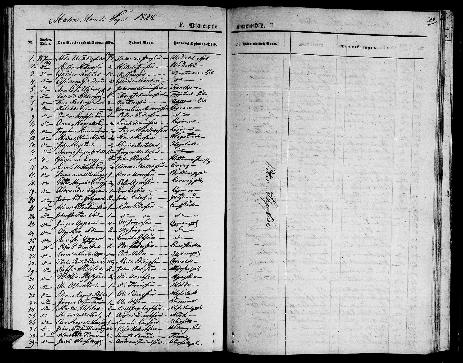 SAT, Ministerialprotokoller, klokkerbøker og fødselsregistre - Nord-Trøndelag, 735/L0336: Ministerialbok nr. 735A05 /1, 1825-1835, s. 298