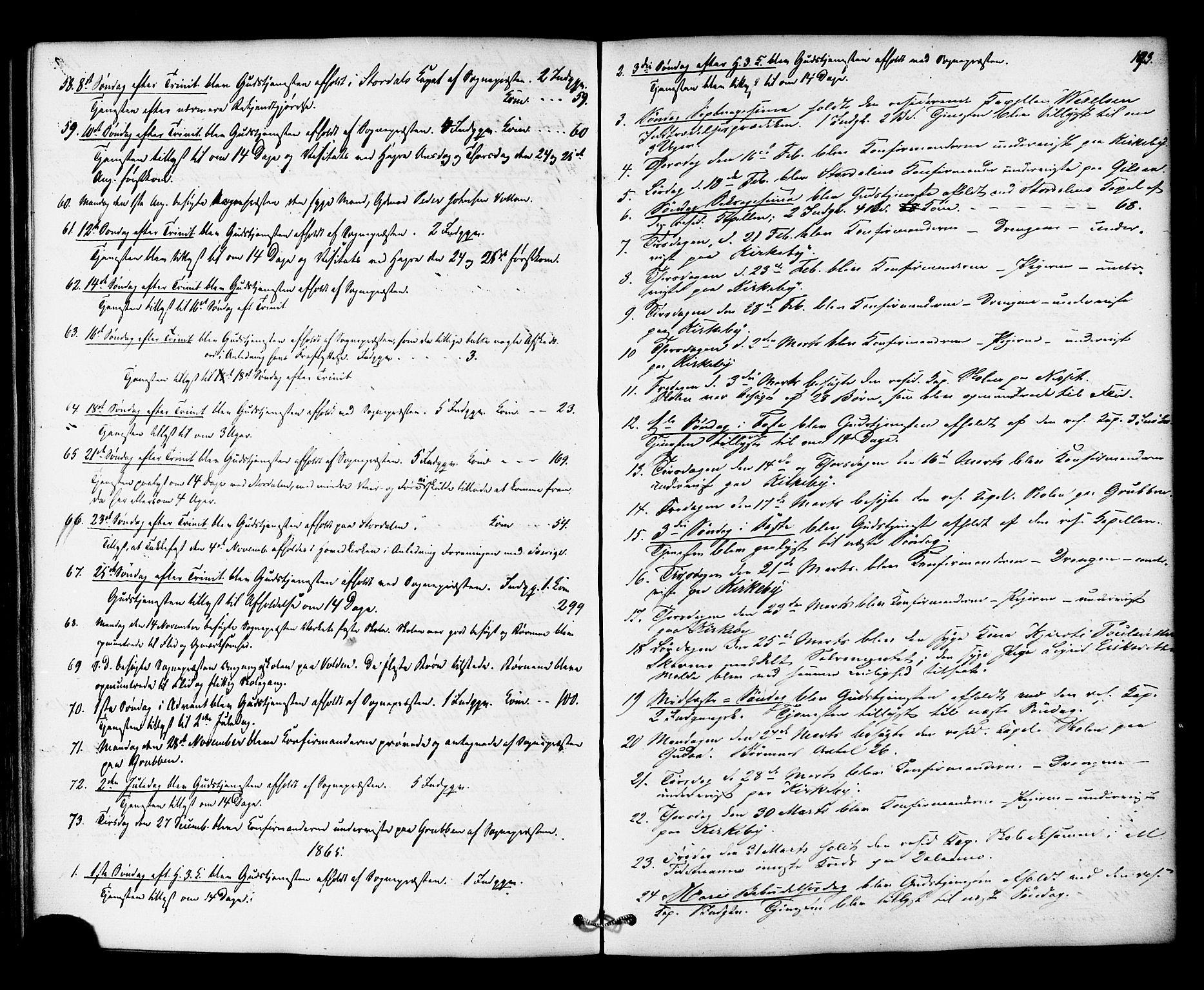 SAT, Ministerialprotokoller, klokkerbøker og fødselsregistre - Nord-Trøndelag, 706/L0041: Ministerialbok nr. 706A02, 1862-1877, s. 193