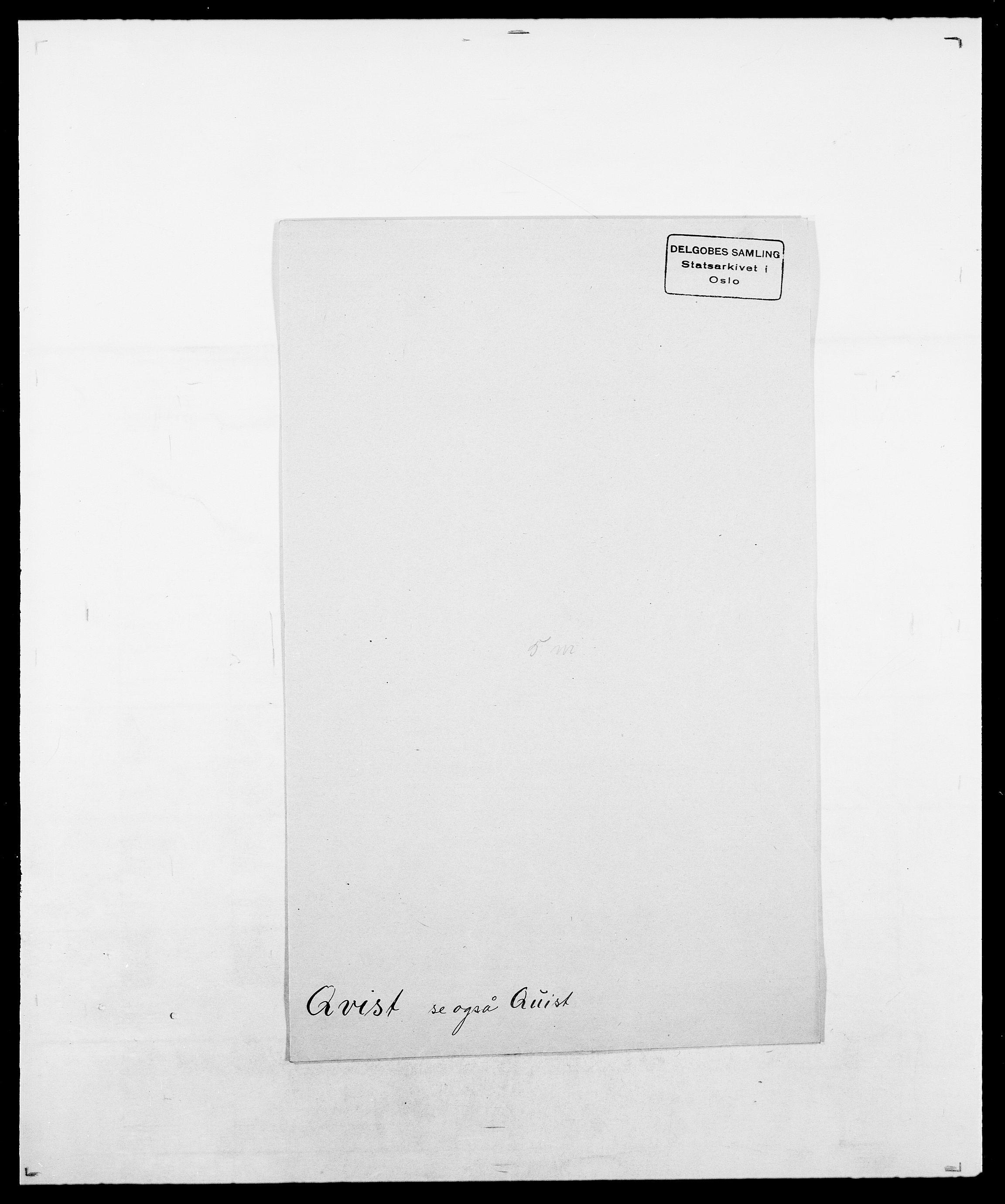 SAO, Delgobe, Charles Antoine - samling, D/Da/L0031: de Place - Raaum, s. 509