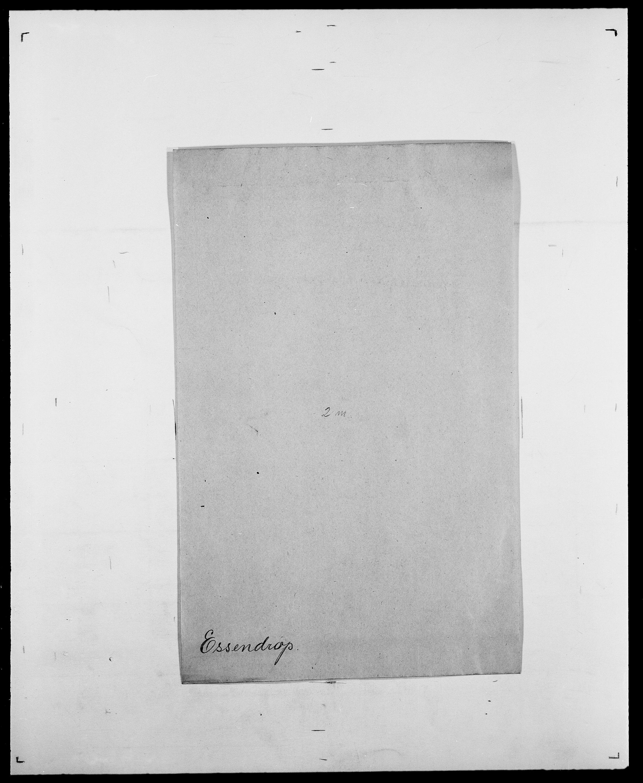 SAO, Delgobe, Charles Antoine - samling, D/Da/L0010: Dürendahl - Fagelund, s. 666