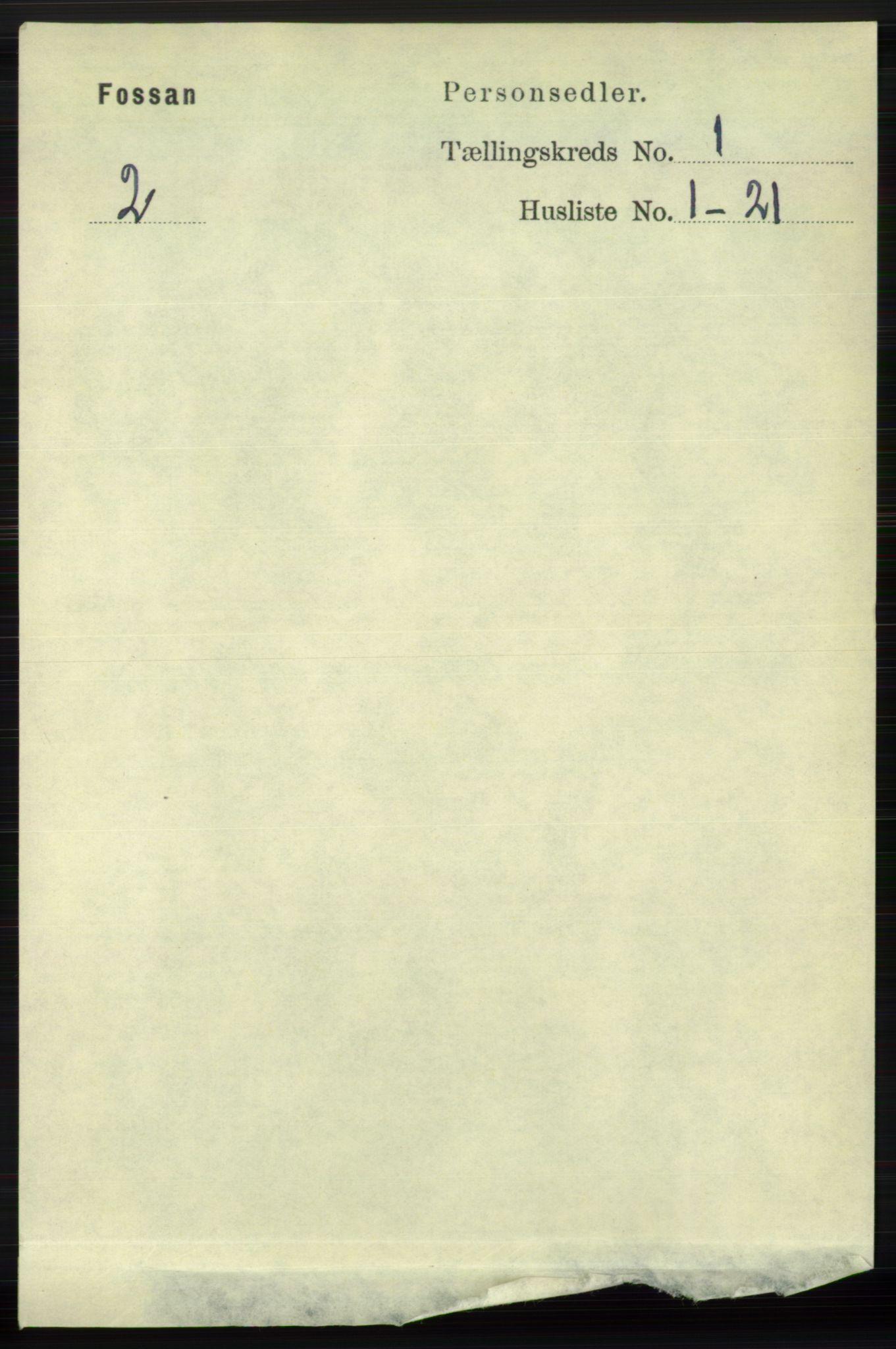 RA, Folketelling 1891 for 1129 Forsand herred, 1891, s. 58