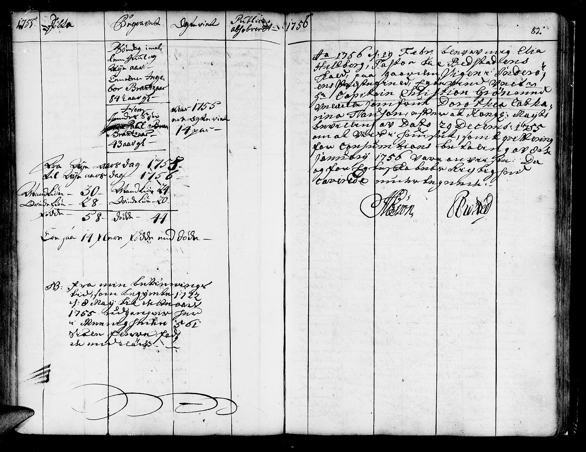 SAT, Ministerialprotokoller, klokkerbøker og fødselsregistre - Nord-Trøndelag, 741/L0385: Ministerialbok nr. 741A01, 1722-1815, s. 82