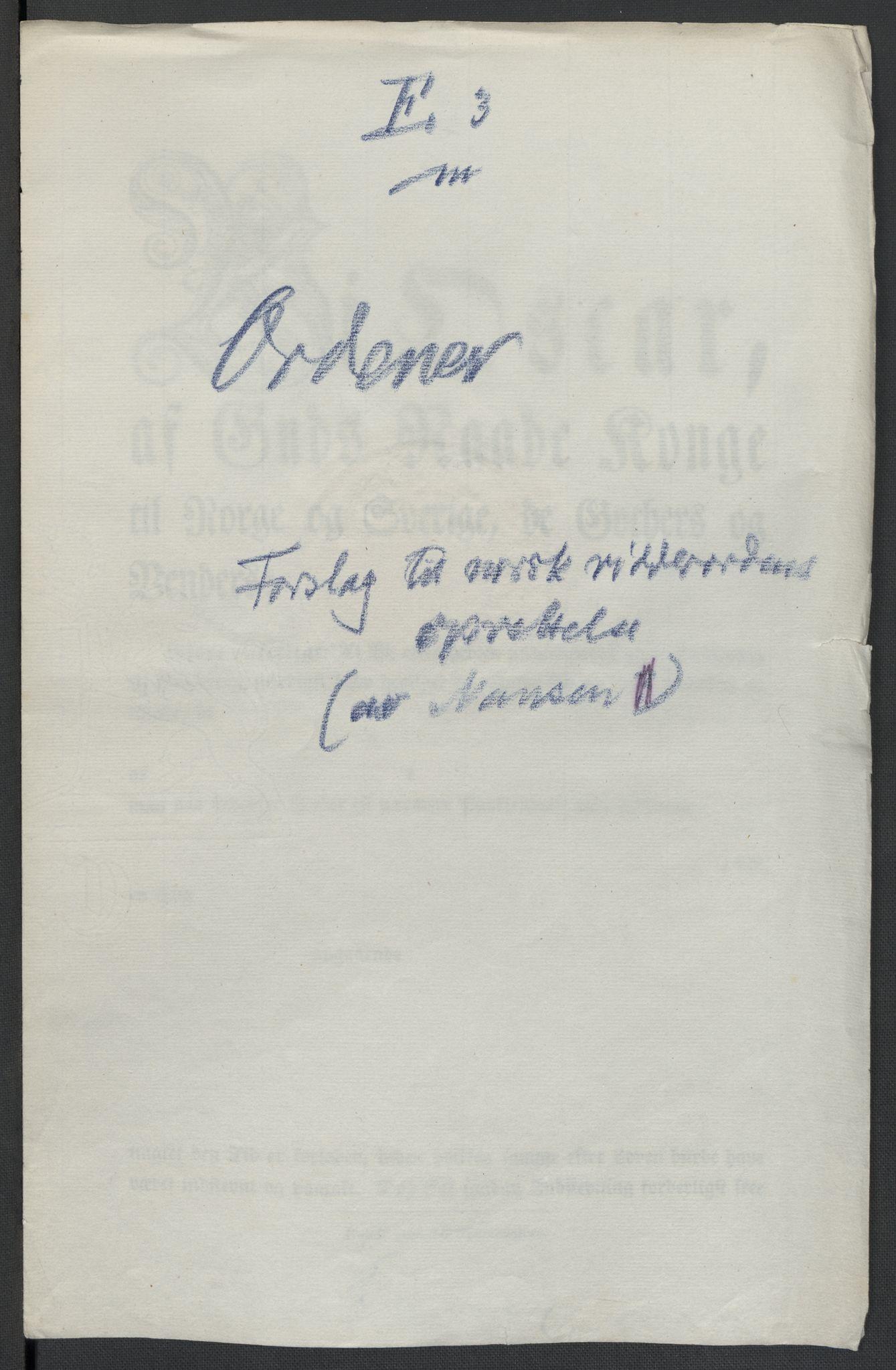RA, Christie, Wilhelm Frimann Koren, F/L0005, 1815-1816, s. 267