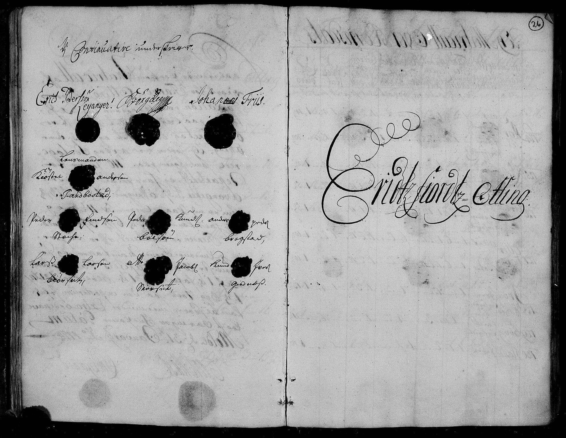 RA, Rentekammeret inntil 1814, Realistisk ordnet avdeling, N/Nb/Nbf/L0153: Romsdal matrikkelprotokoll, 1724, s. 25b-26a