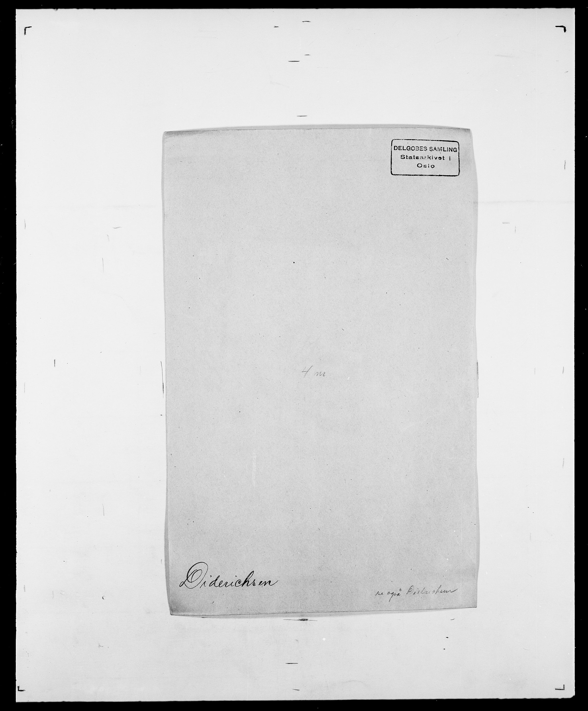 SAO, Delgobe, Charles Antoine - samling, D/Da/L0009: Dahl - v. Düren, s. 528