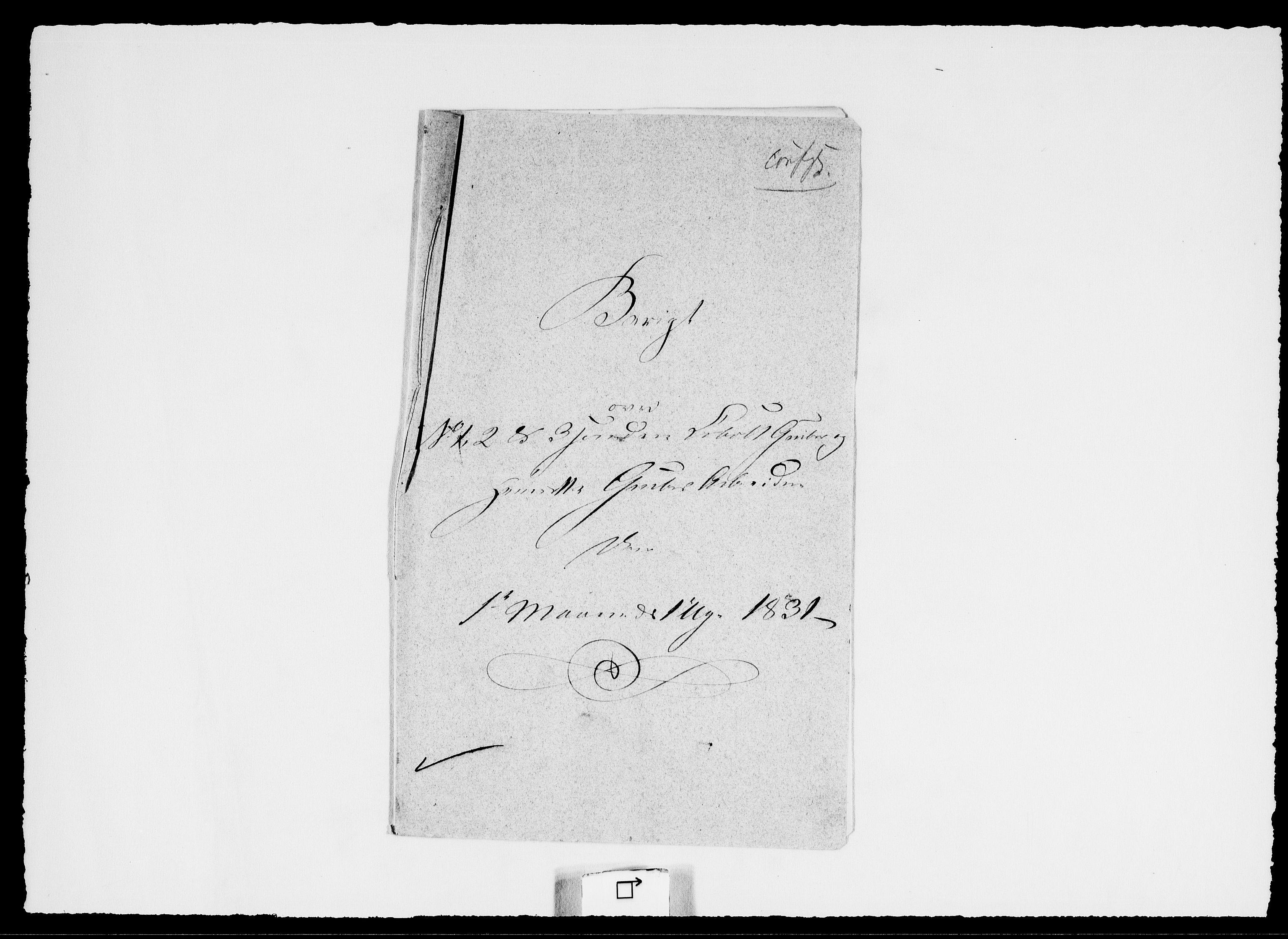 RA, Modums Blaafarveværk, G/Ge/L0336, 1831, s. 2