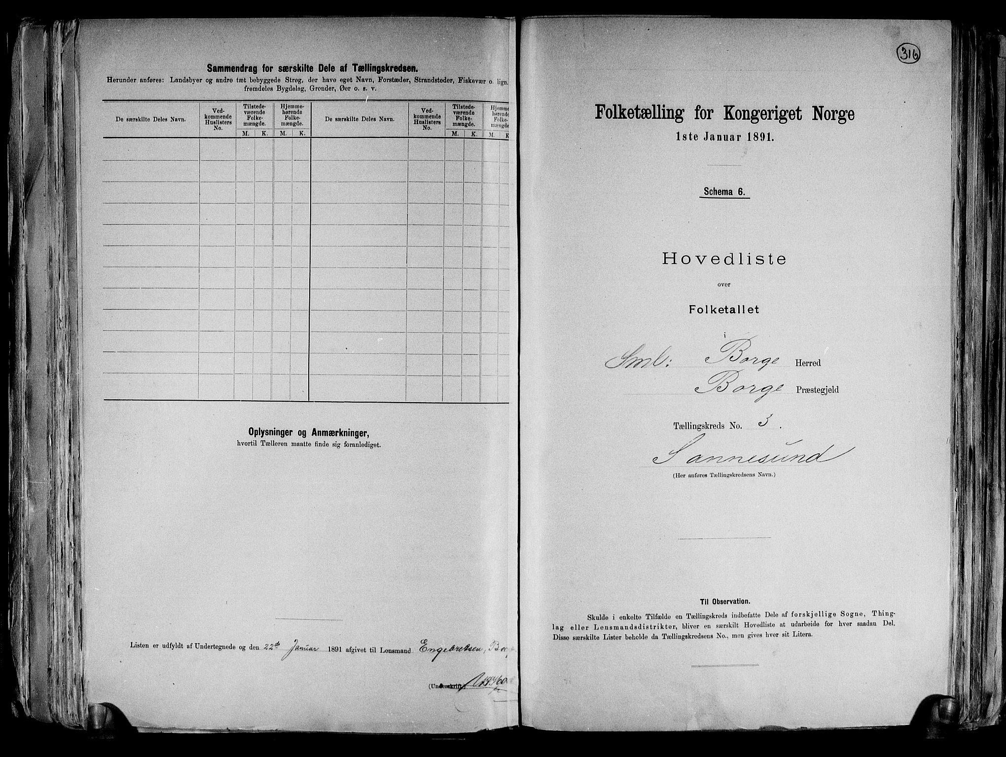 RA, Folketelling 1891 for 0113 Borge herred, 1891, s. 8