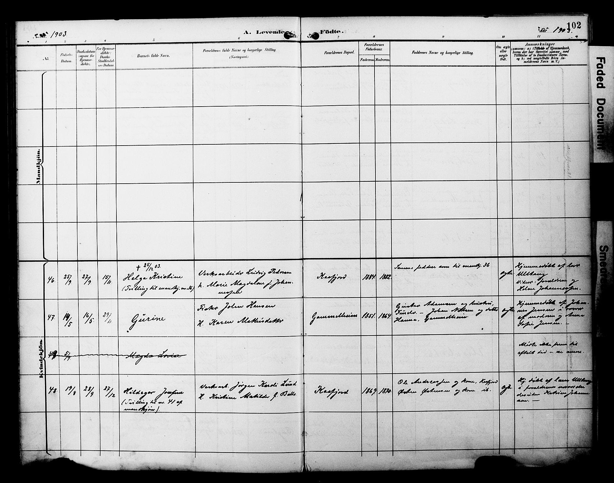 SATØ, Alta sokneprestembete, Ministerialbok nr. 3, 1892-1904, s. 102