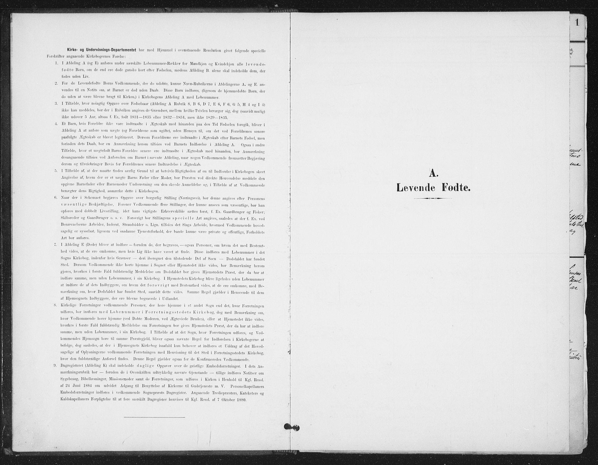 SAT, Ministerialprotokoller, klokkerbøker og fødselsregistre - Sør-Trøndelag, 658/L0723: Ministerialbok nr. 658A02, 1897-1912