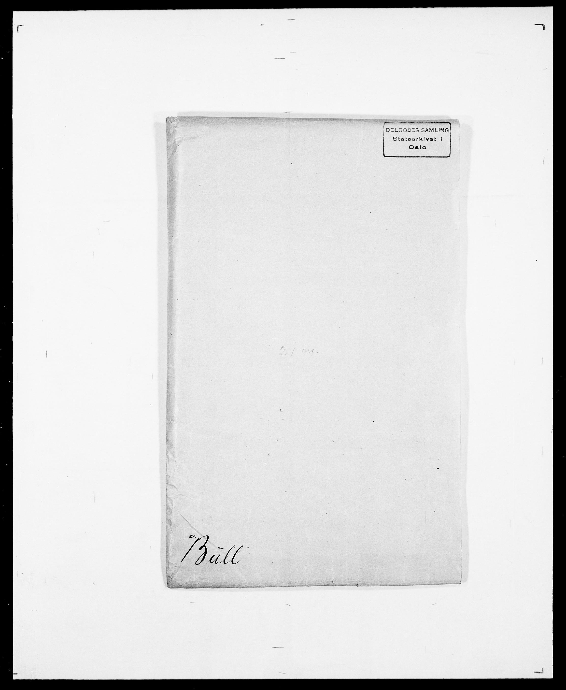 SAO, Delgobe, Charles Antoine - samling, D/Da/L0007: Buaas - Caphengst, s. 259