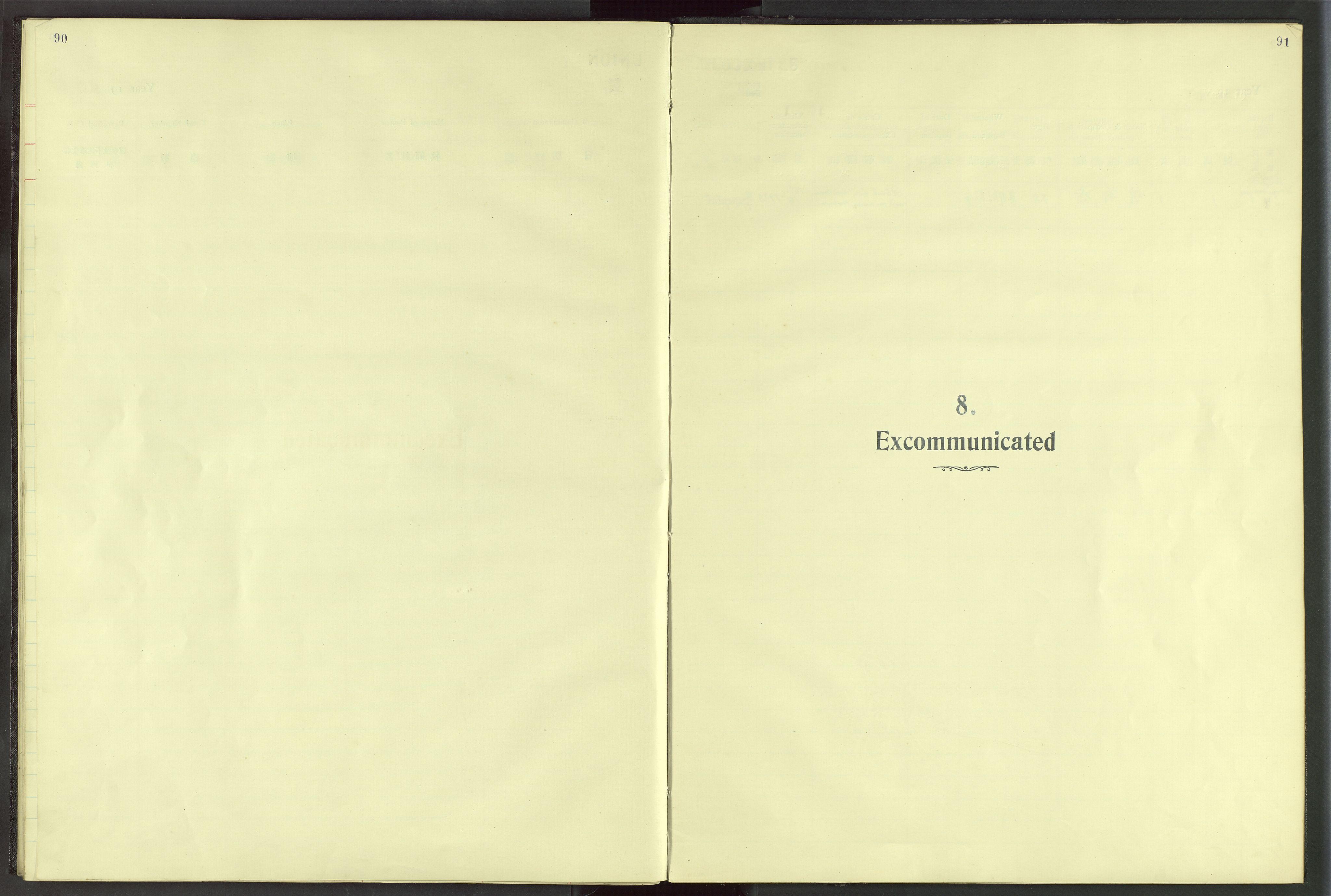 VID, Det Norske Misjonsselskap - utland - Kina (Hunan), Dm/L0024: Ministerialbok nr. 62, 1931-1948, s. 90-91