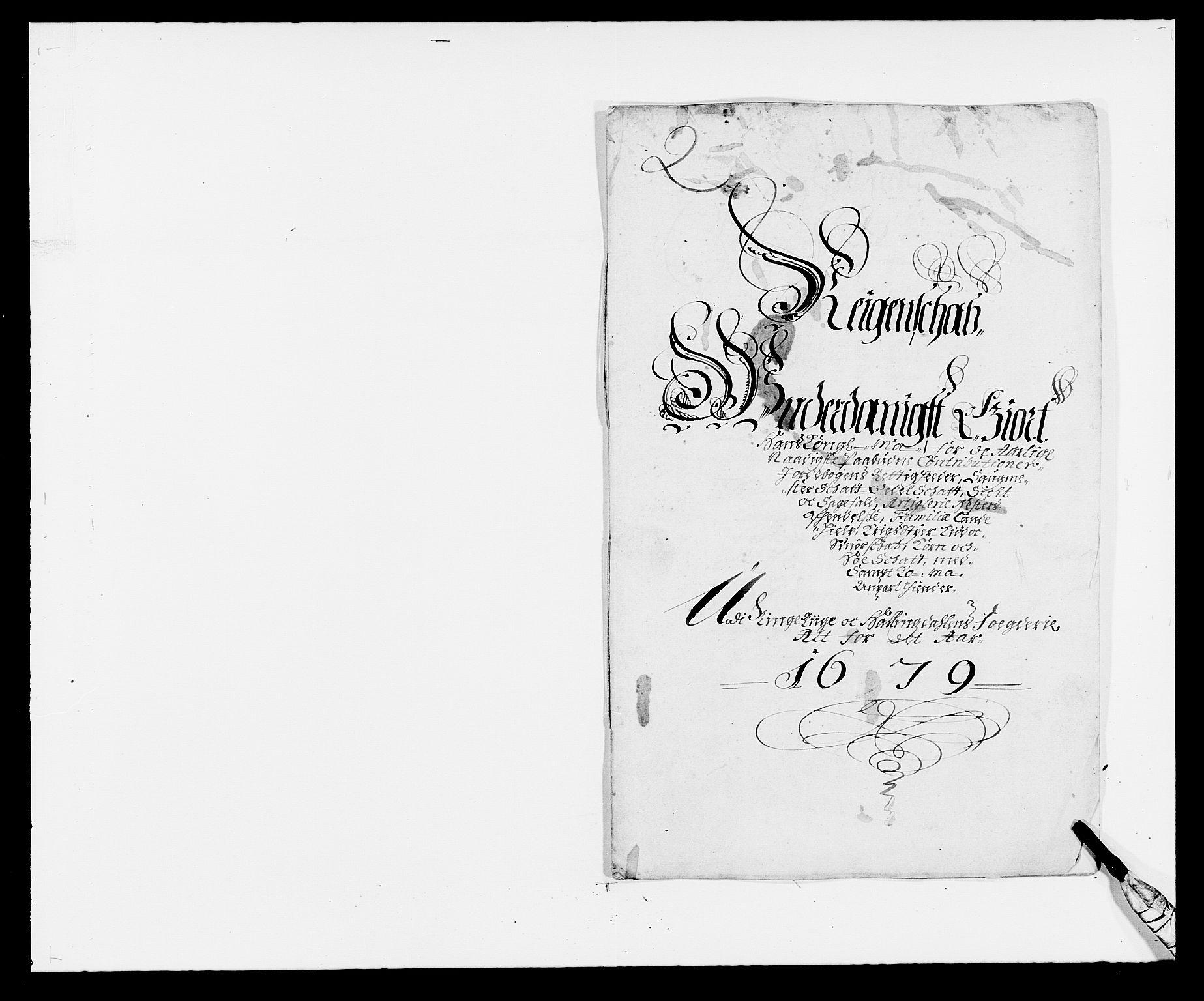 RA, Rentekammeret inntil 1814, Reviderte regnskaper, Fogderegnskap, R21/L1443: Fogderegnskap Ringerike og Hallingdal, 1678-1680, s. 210