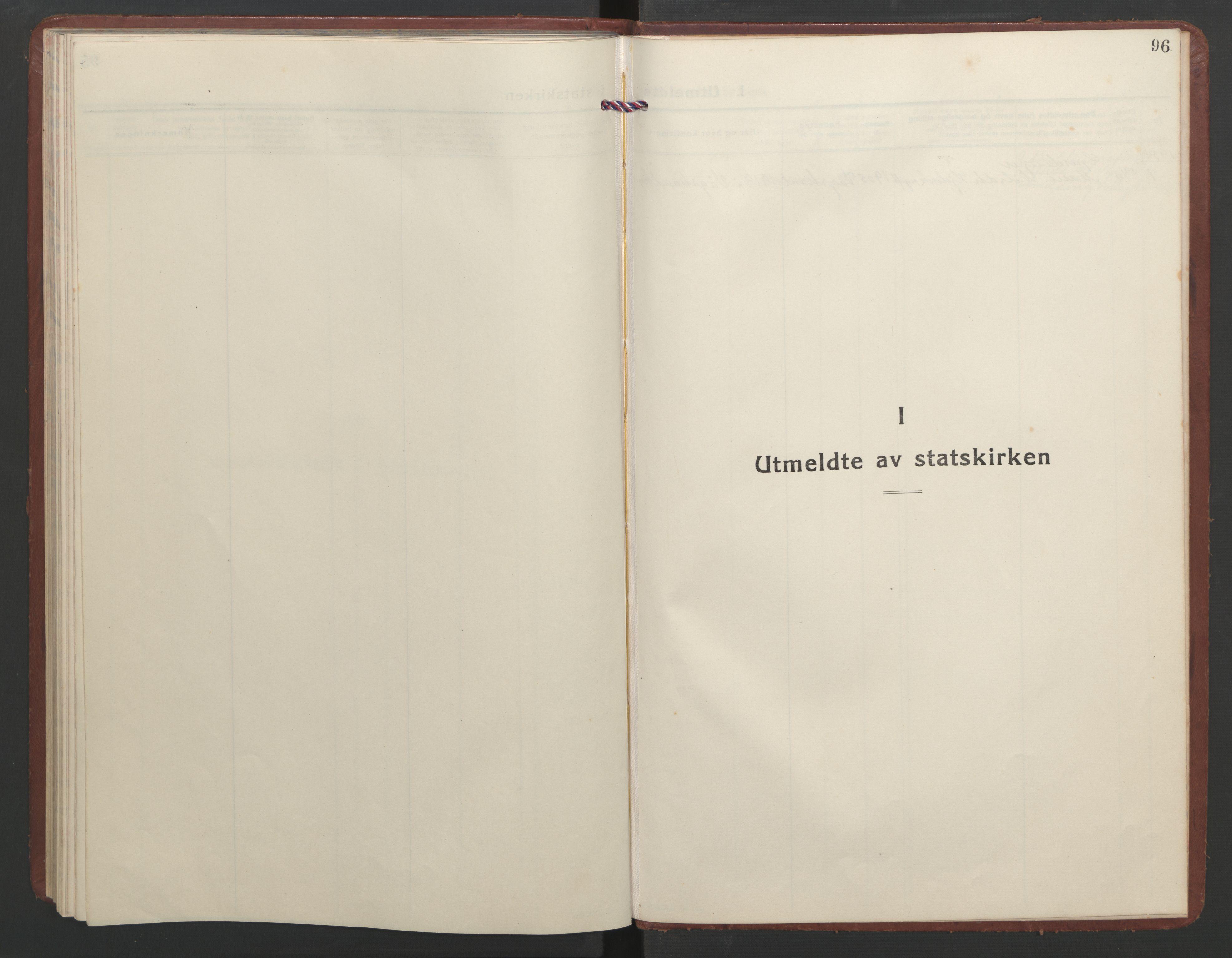 SAT, Ministerialprotokoller, klokkerbøker og fødselsregistre - Møre og Romsdal, 550/L0619: Klokkerbok nr. 550C02, 1928-1967, s. 96