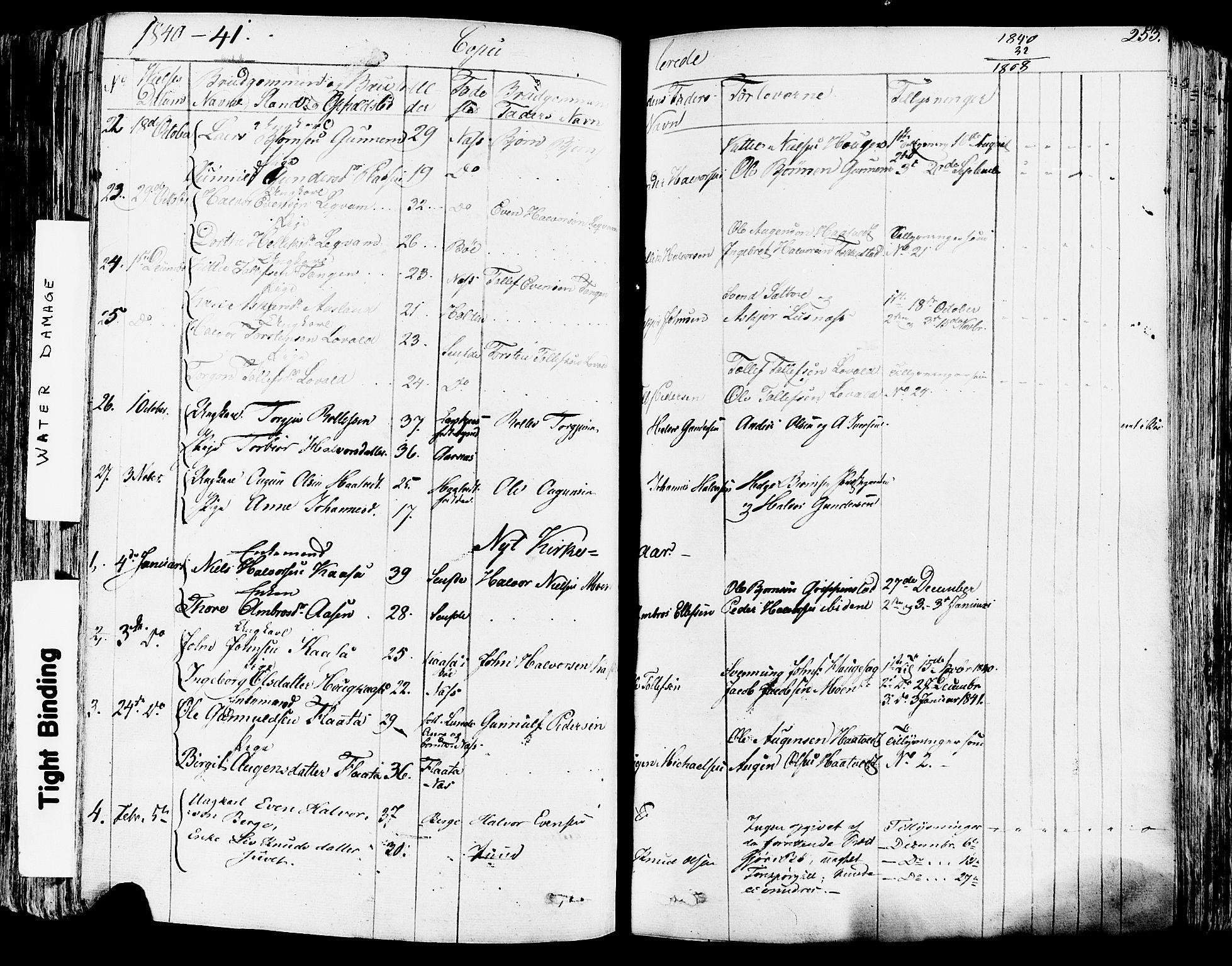 SAKO, Sauherad kirkebøker, F/Fa/L0006: Ministerialbok nr. I 6, 1827-1850, s. 253