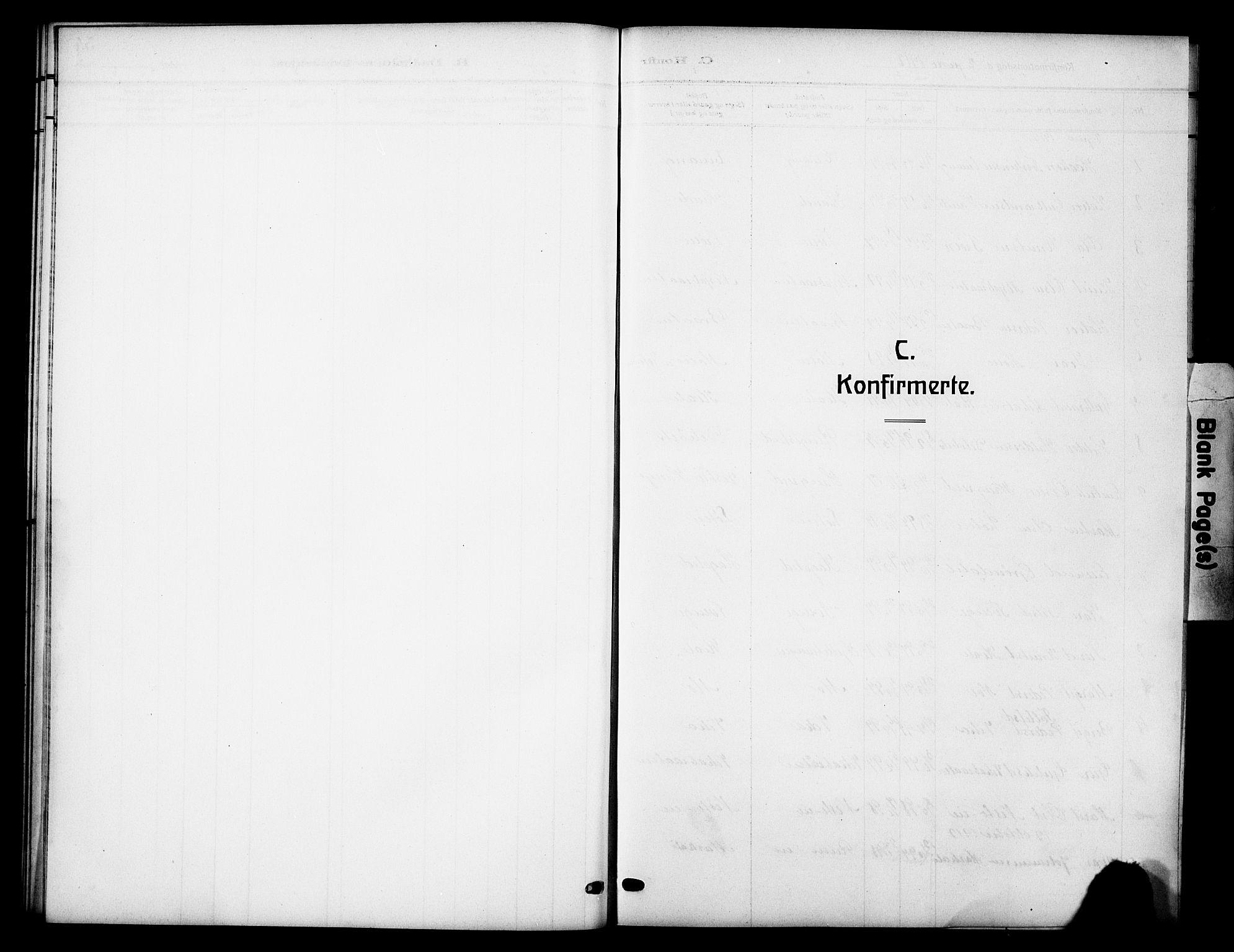 SAH, Vestre Slidre prestekontor, Klokkerbok nr. 7, 1909-1930, s. 52