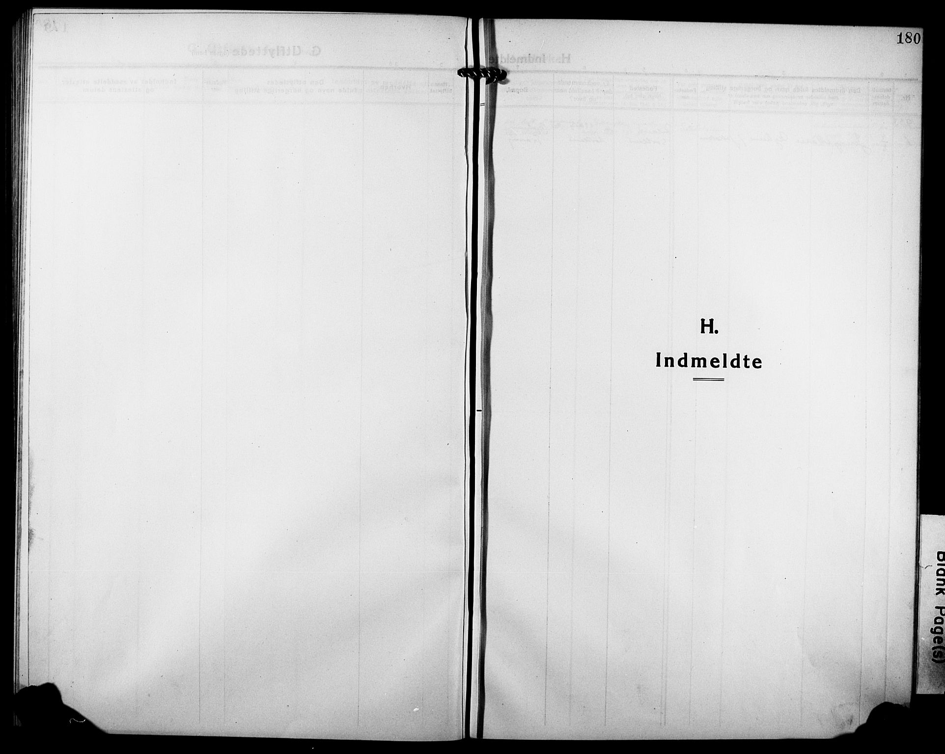 SATØ, Tranøy sokneprestkontor, I/Ia/Iab/L0006klokker: Klokkerbok nr. 6, 1919-1932, s. 180