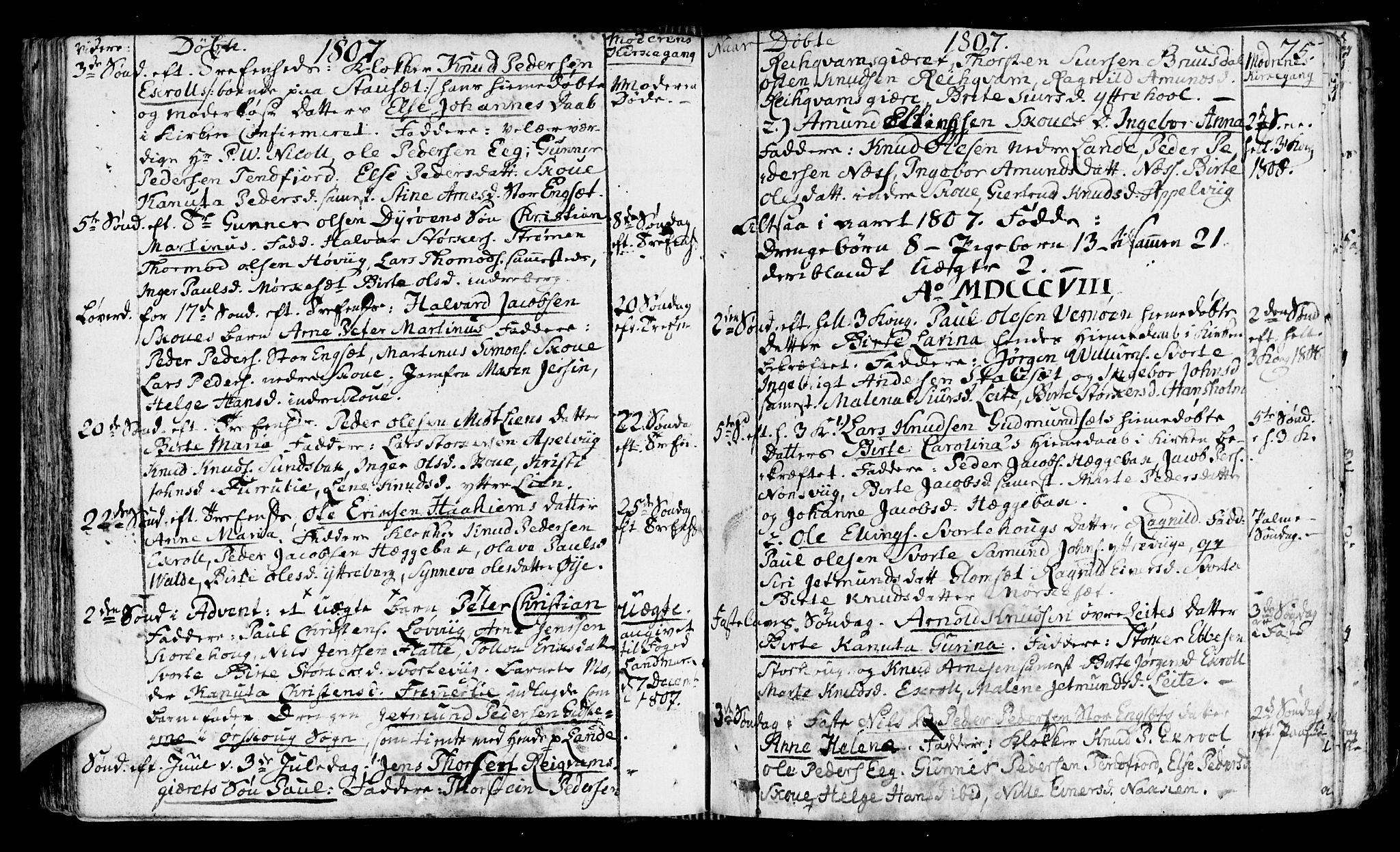 SAT, Ministerialprotokoller, klokkerbøker og fødselsregistre - Møre og Romsdal, 524/L0350: Ministerialbok nr. 524A02, 1780-1817, s. 75