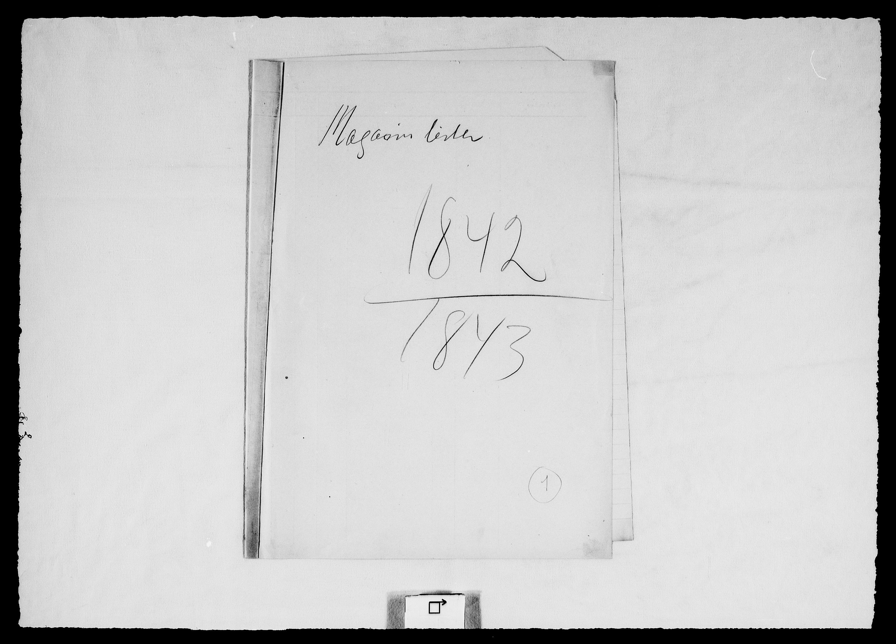 RA, Modums Blaafarveværk, G/Gd/Gdd/L0306, 1842-1846, s. 2