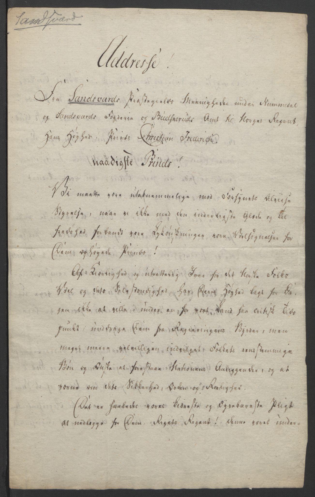 RA, Statsrådssekretariatet, D/Db/L0007: Fullmakter for Eidsvollsrepresentantene i 1814. , 1814, s. 339