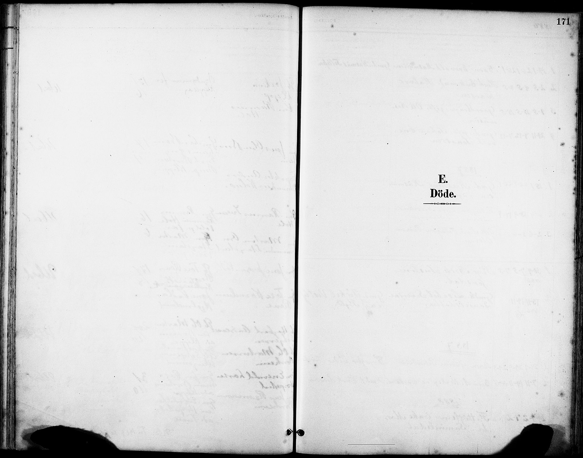 SAST, Klepp sokneprestkontor, 3/30BA/L0008: Ministerialbok nr. A 9, 1886-1919, s. 171
