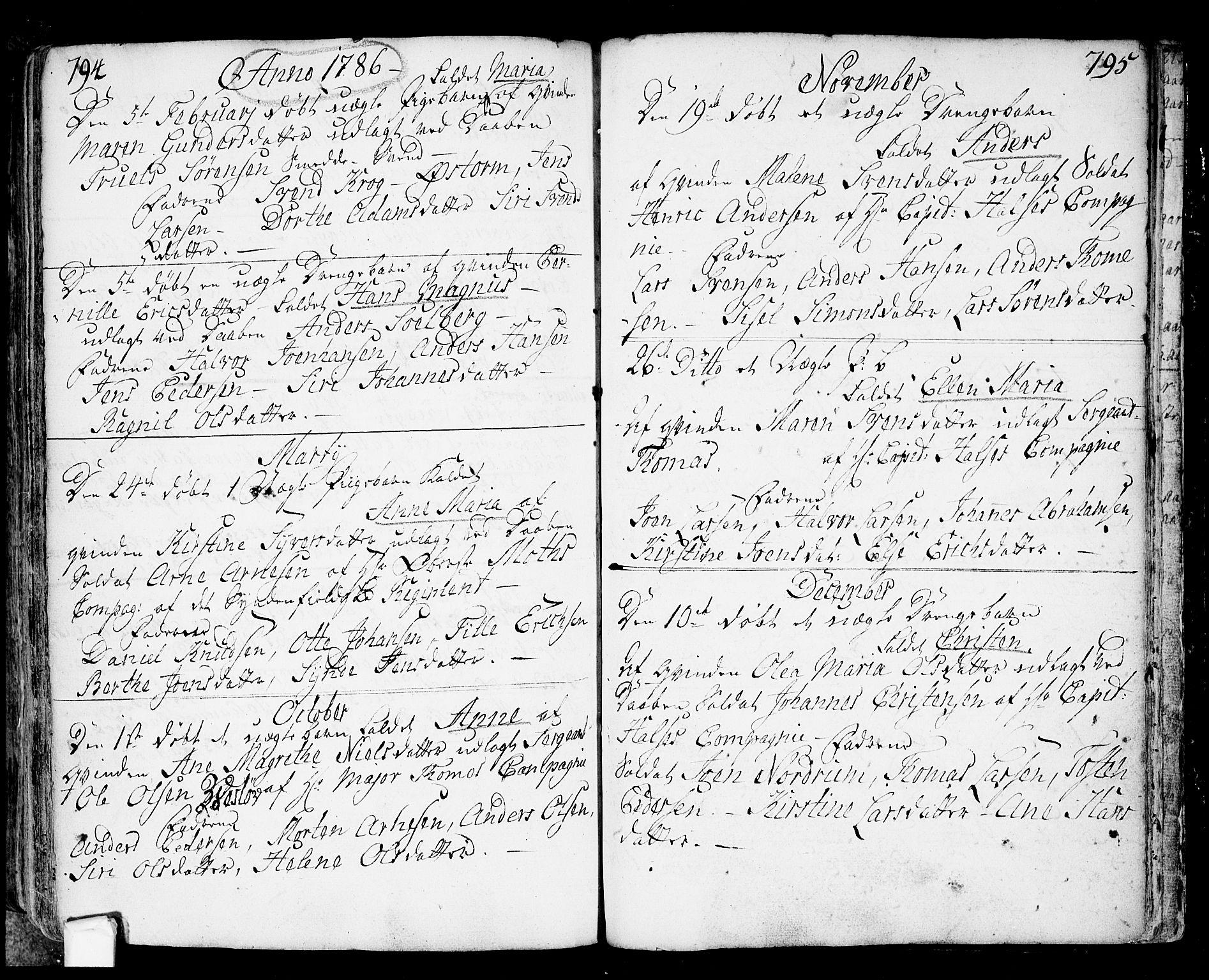 SAO, Fredrikstad prestekontor Kirkebøker, F/Fa/L0002: Ministerialbok nr. 2, 1750-1804, s. 794-795