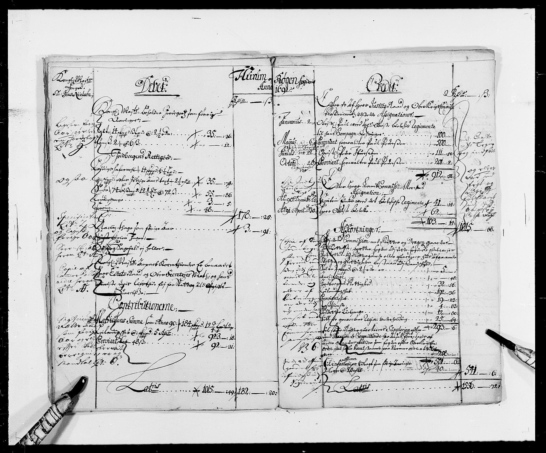 RA, Rentekammeret inntil 1814, Reviderte regnskaper, Fogderegnskap, R29/L1693: Fogderegnskap Hurum og Røyken, 1688-1693, s. 11