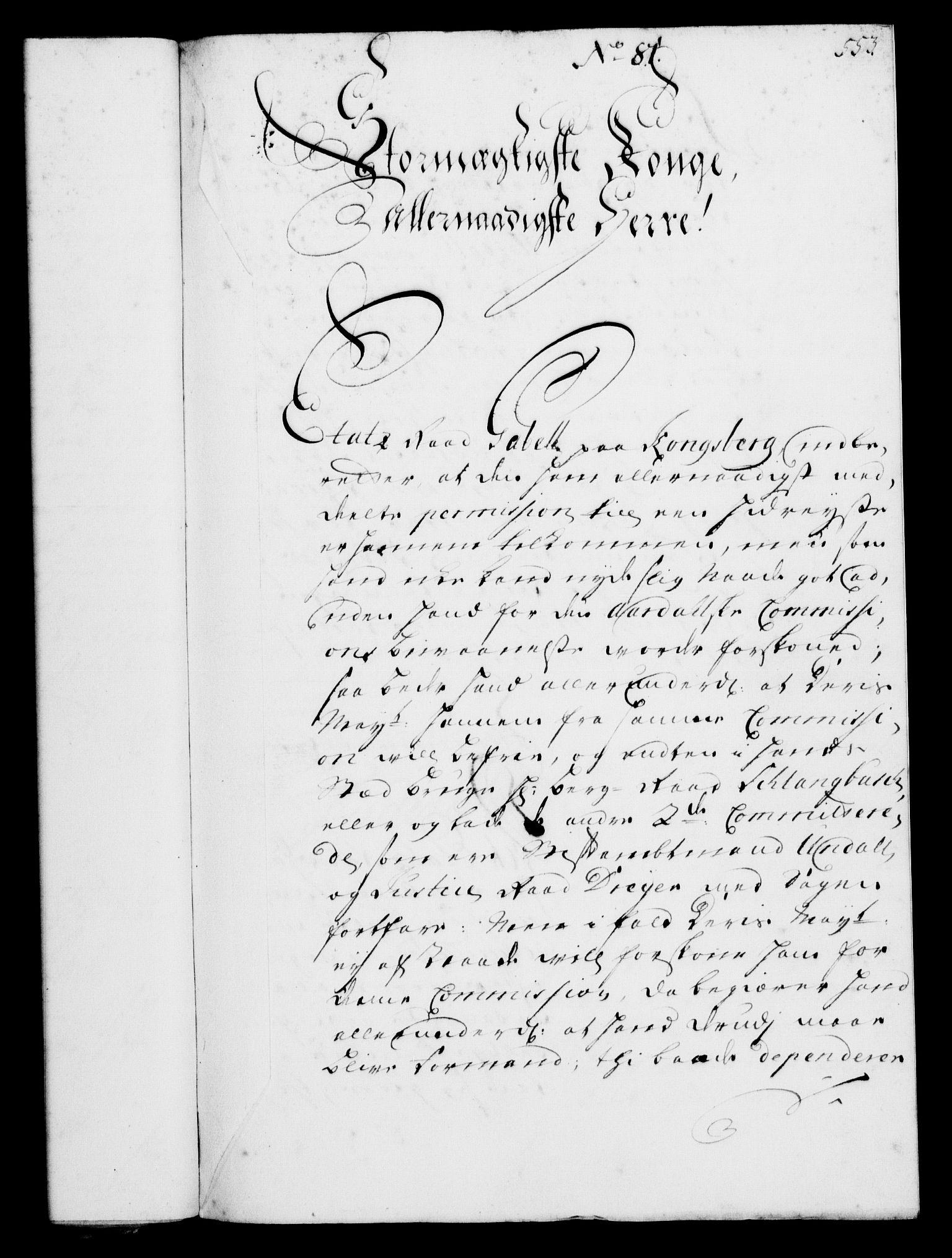 RA, Rentekammeret, Kammerkanselliet, G/Gf/Gfa/L0002: Norsk relasjons- og resolusjonsprotokoll (merket RK 52.2), 1720, s. 536