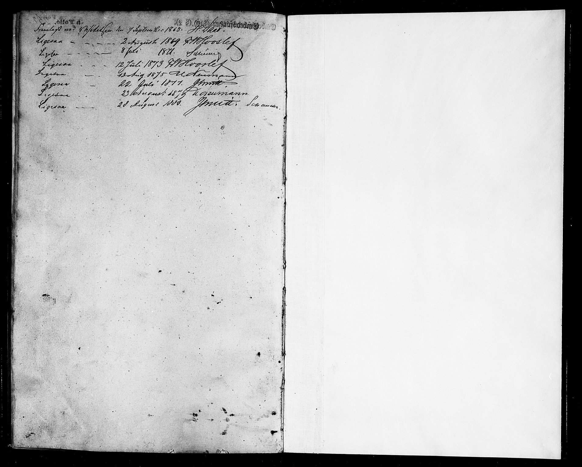 SAT, Ministerialprotokoller, klokkerbøker og fødselsregistre - Nordland, 803/L0075: Klokkerbok nr. 803C02, 1867-1881