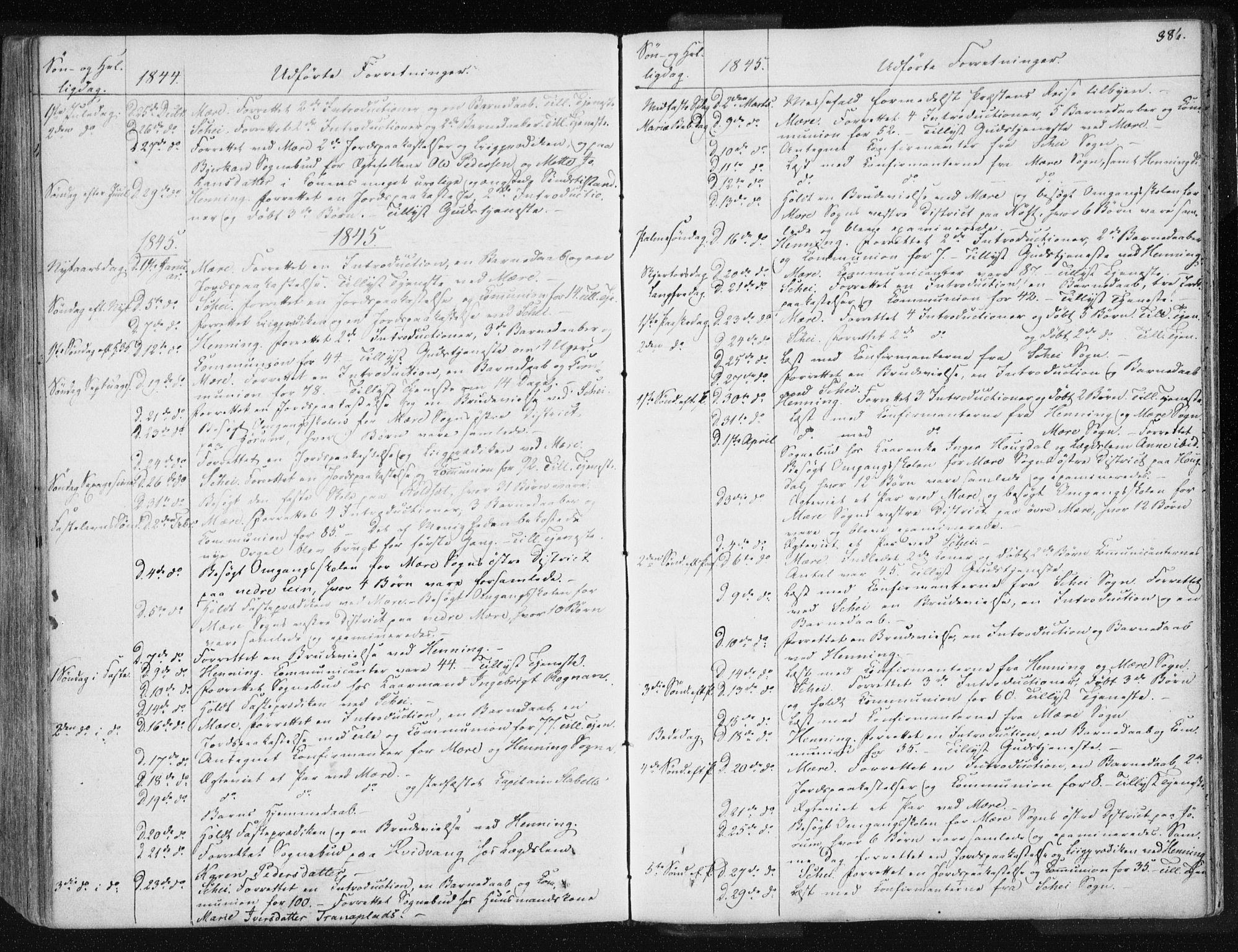 SAT, Ministerialprotokoller, klokkerbøker og fødselsregistre - Nord-Trøndelag, 735/L0339: Ministerialbok nr. 735A06 /1, 1836-1848, s. 386