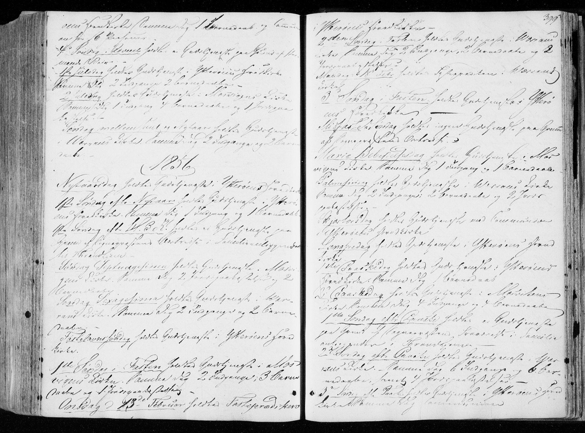 SAT, Ministerialprotokoller, klokkerbøker og fødselsregistre - Nord-Trøndelag, 722/L0218: Ministerialbok nr. 722A05, 1843-1868, s. 399