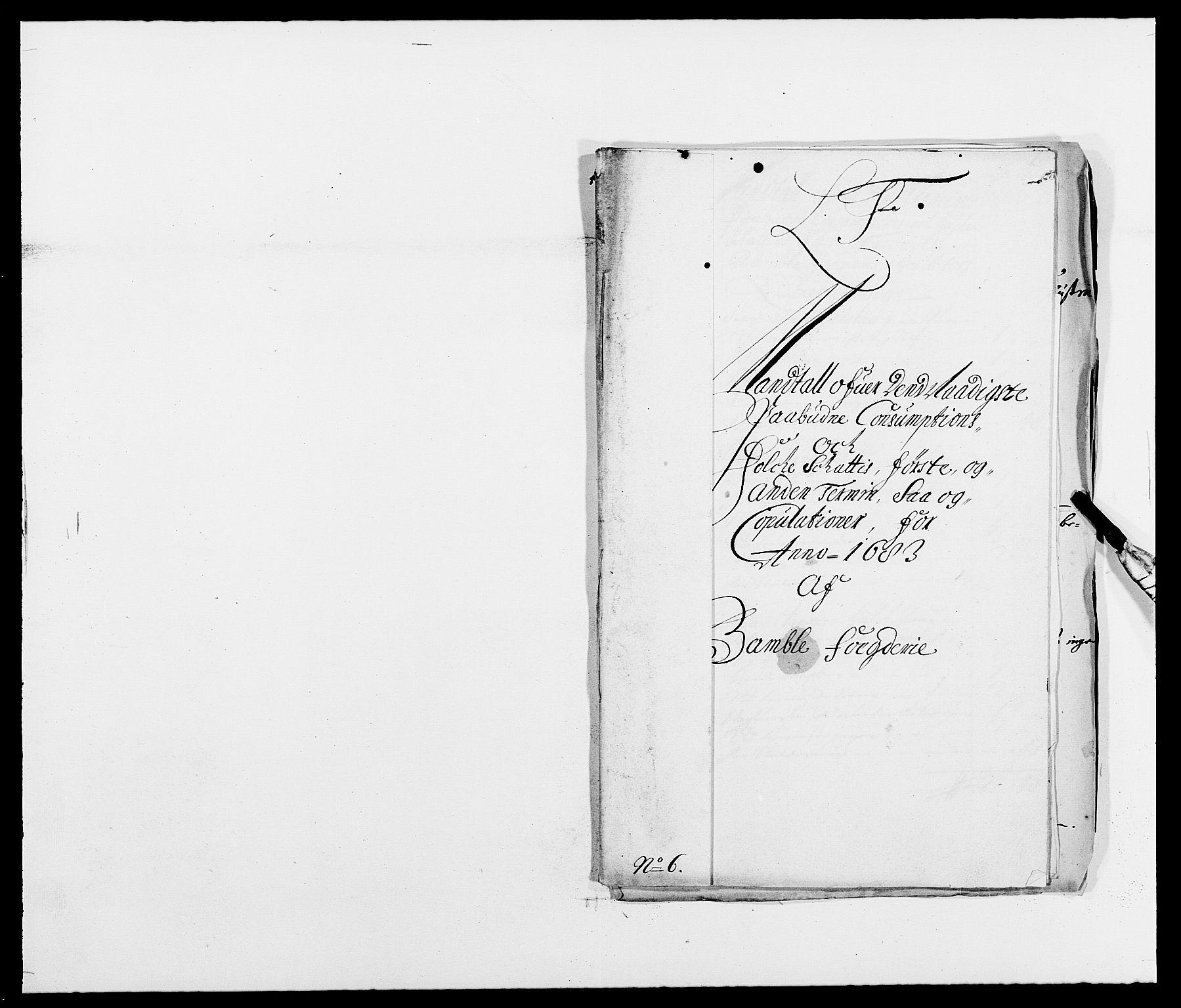 RA, Rentekammeret inntil 1814, Reviderte regnskaper, Fogderegnskap, R34/L2046: Fogderegnskap Bamble, 1682-1683, s. 341