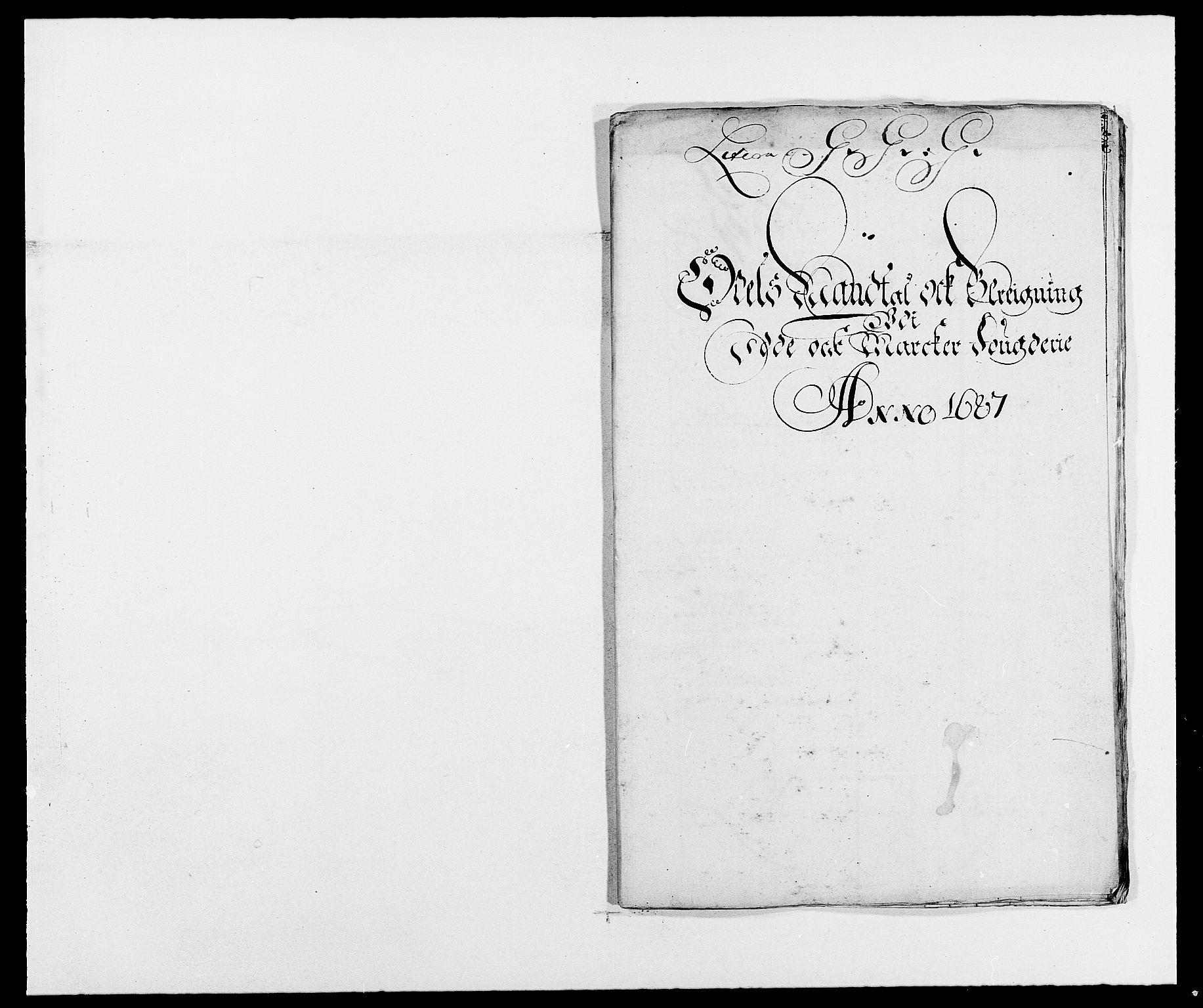 RA, Rentekammeret inntil 1814, Reviderte regnskaper, Fogderegnskap, R01/L0007: Fogderegnskap Idd og Marker, 1687-1688, s. 146
