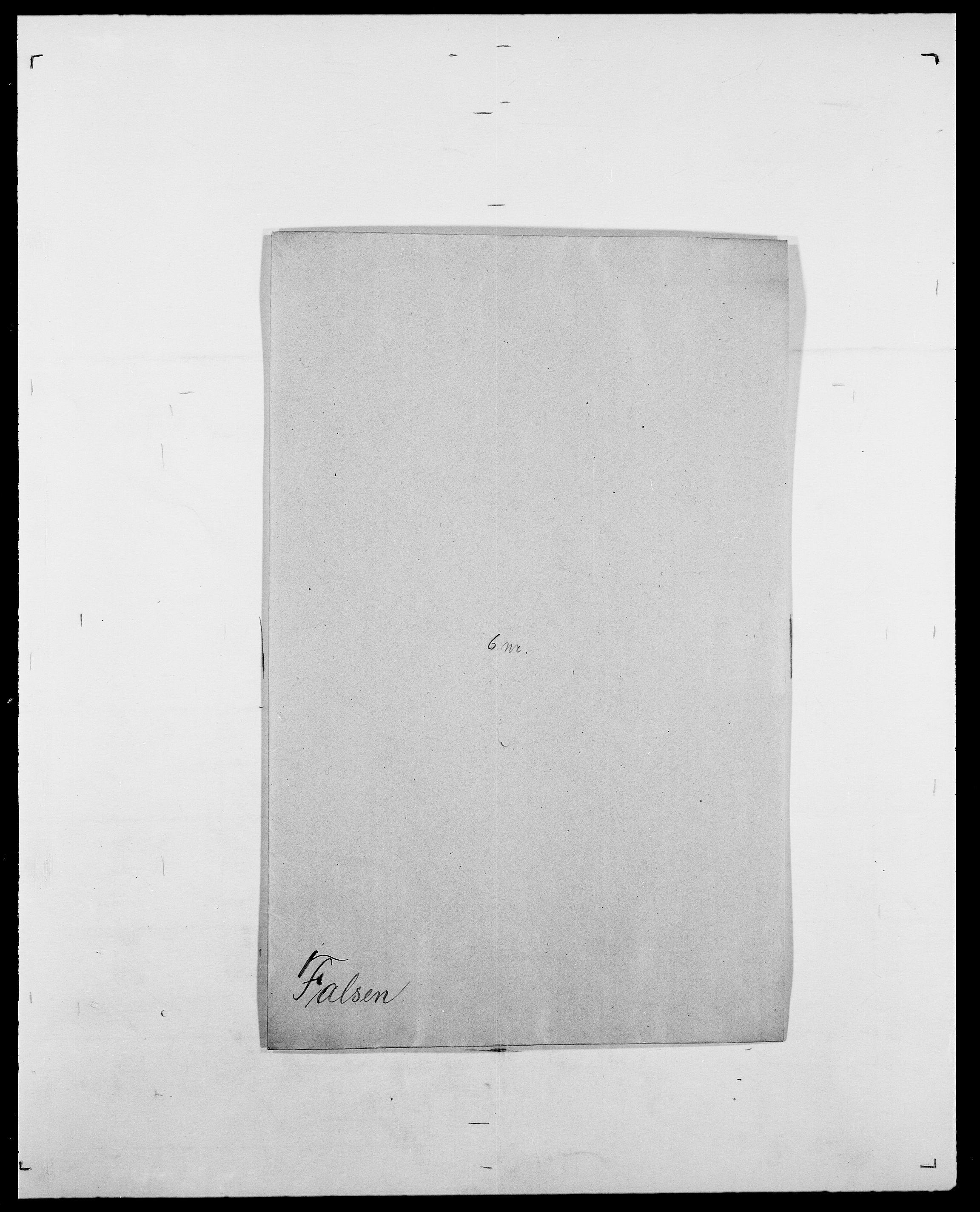 SAO, Delgobe, Charles Antoine - samling, D/Da/L0011: Fahlander - Flood, Flod, s. 146