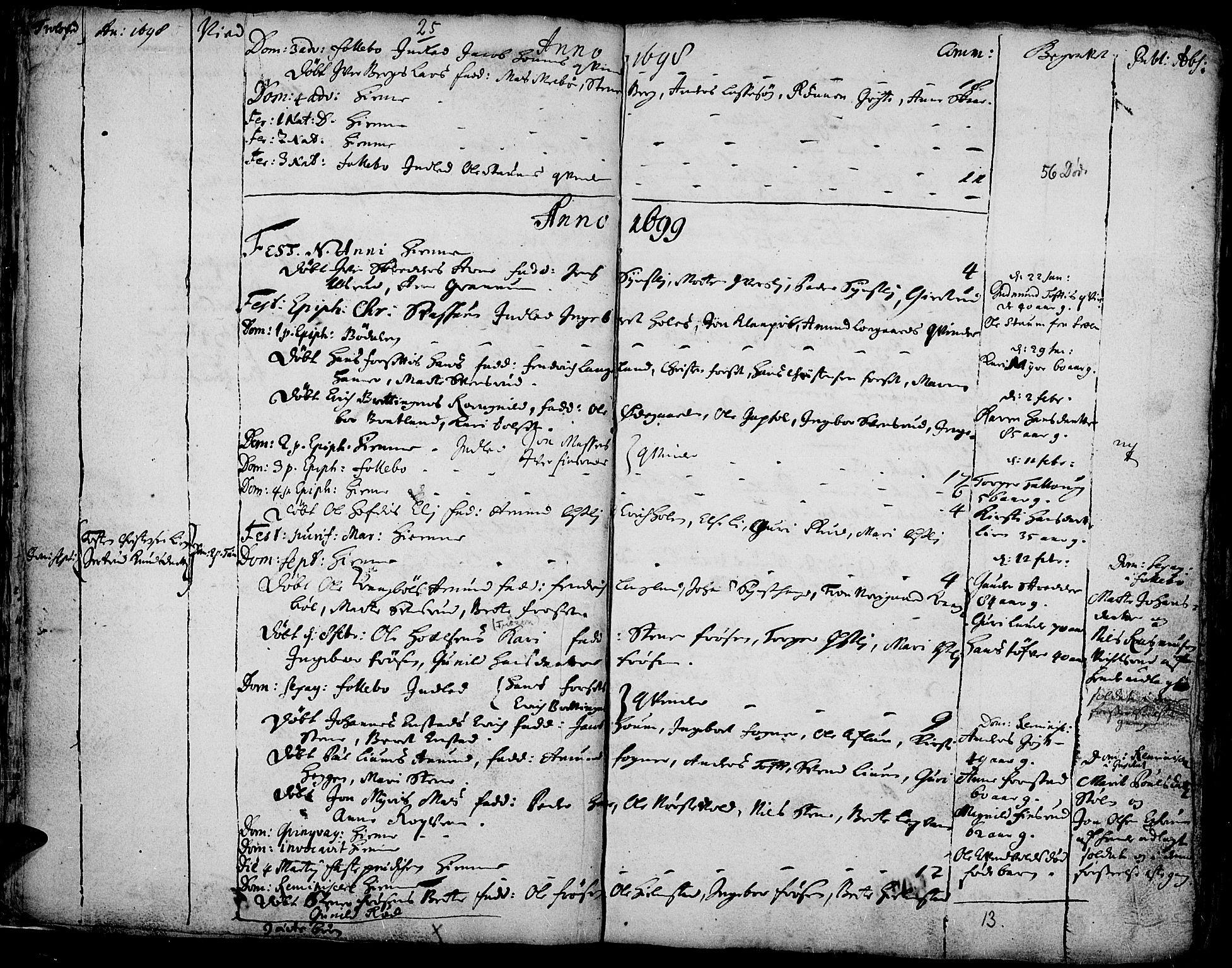 SAH, Gausdal prestekontor, Ministerialbok nr. 1, 1693-1728, s. 25