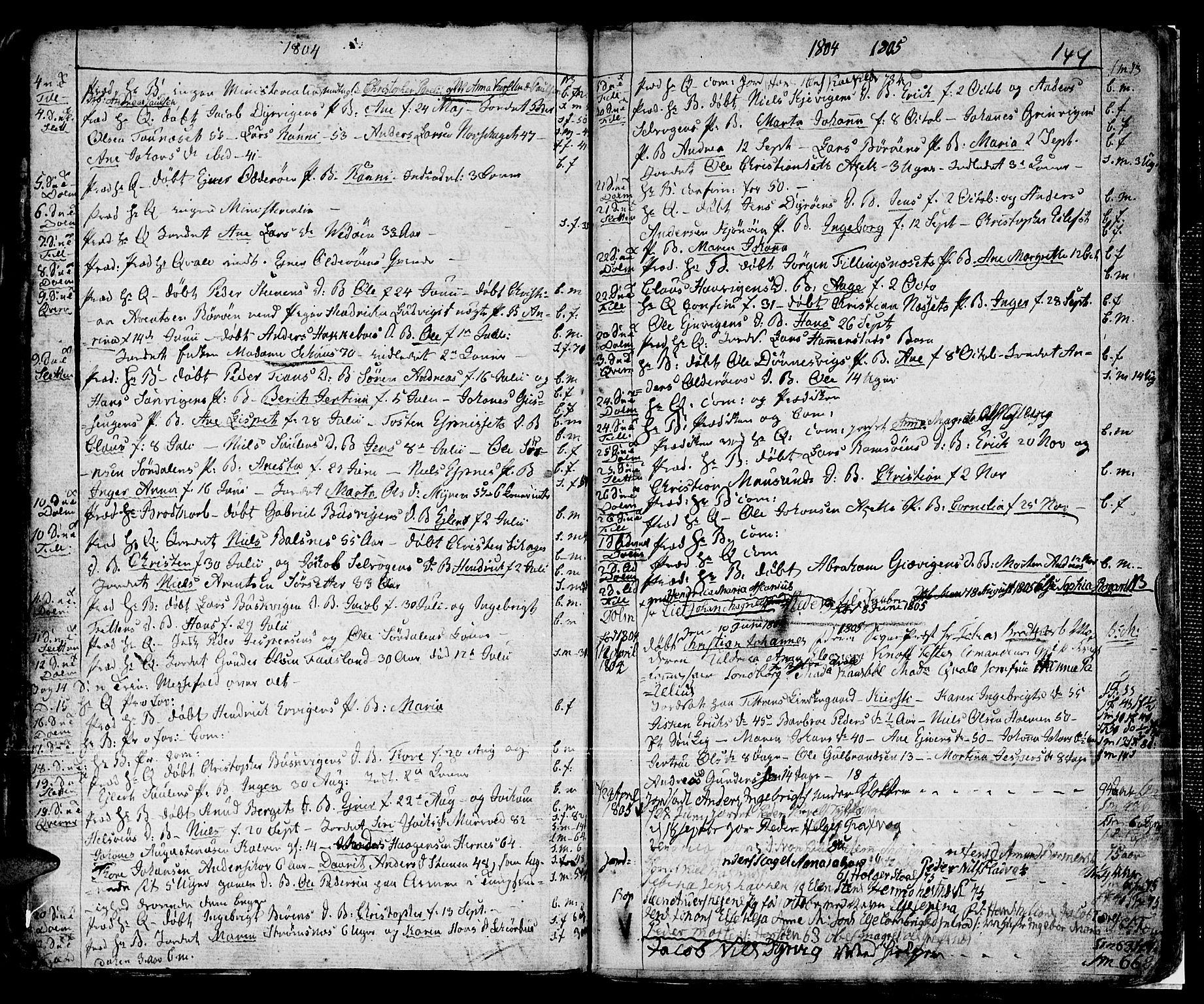 SAT, Ministerialprotokoller, klokkerbøker og fødselsregistre - Sør-Trøndelag, 634/L0526: Ministerialbok nr. 634A02, 1775-1818, s. 144