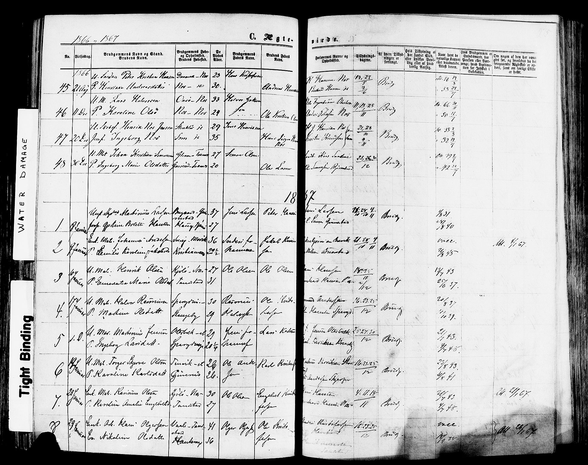 SAKO, Nøtterøy kirkebøker, F/Fa/L0007: Ministerialbok nr. I 7, 1865-1877, s. 275