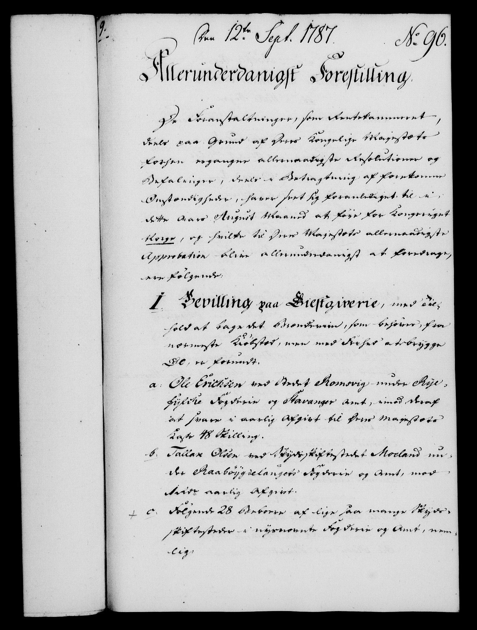 RA, Rentekammeret, Kammerkanselliet, G/Gf/Gfa/L0069: Norsk relasjons- og resolusjonsprotokoll (merket RK 52.69), 1787, s. 1018