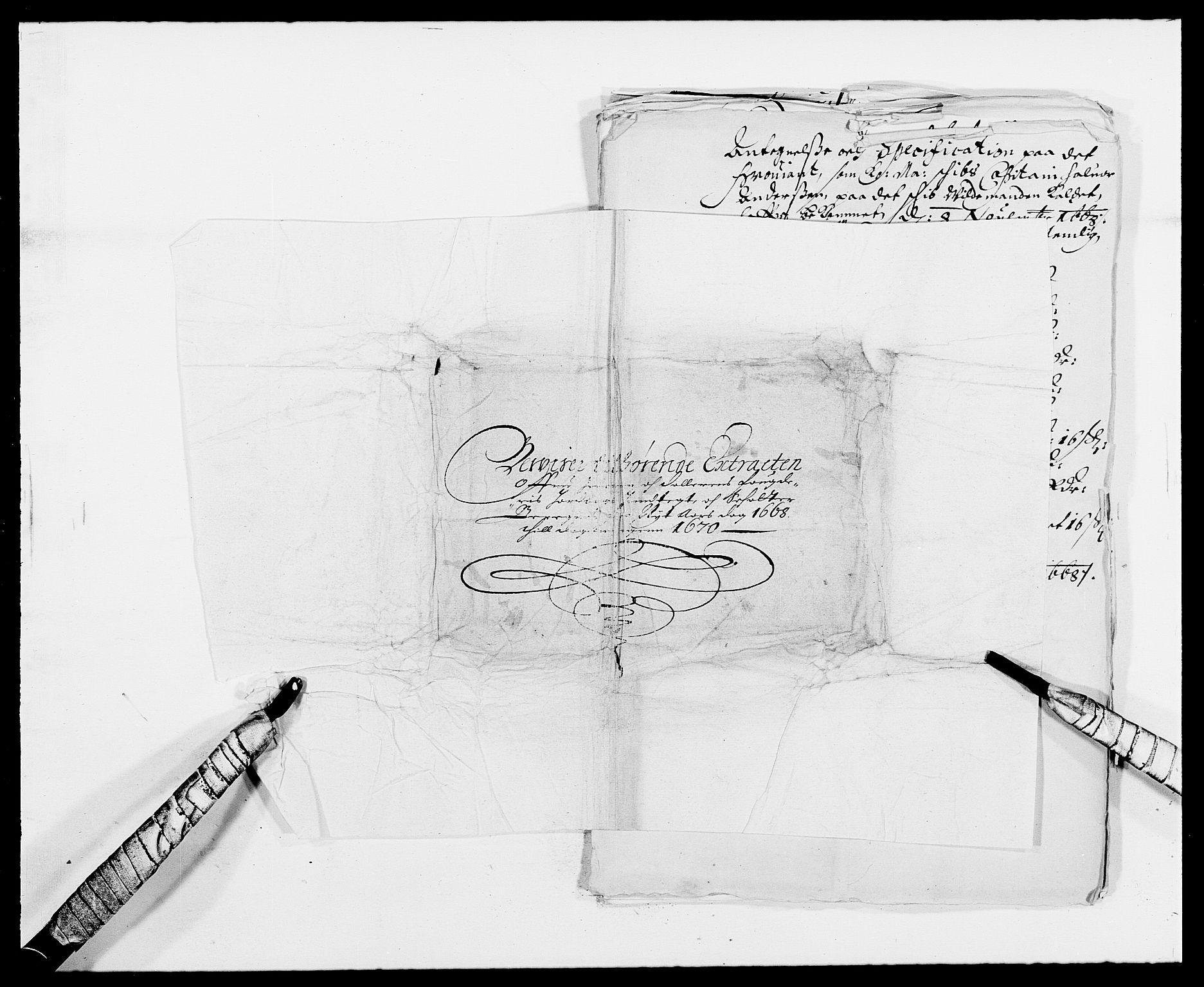 RA, Rentekammeret inntil 1814, Reviderte regnskaper, Fogderegnskap, R46/L2711: Fogderegnskap Jæren og Dalane, 1668-1670, s. 419