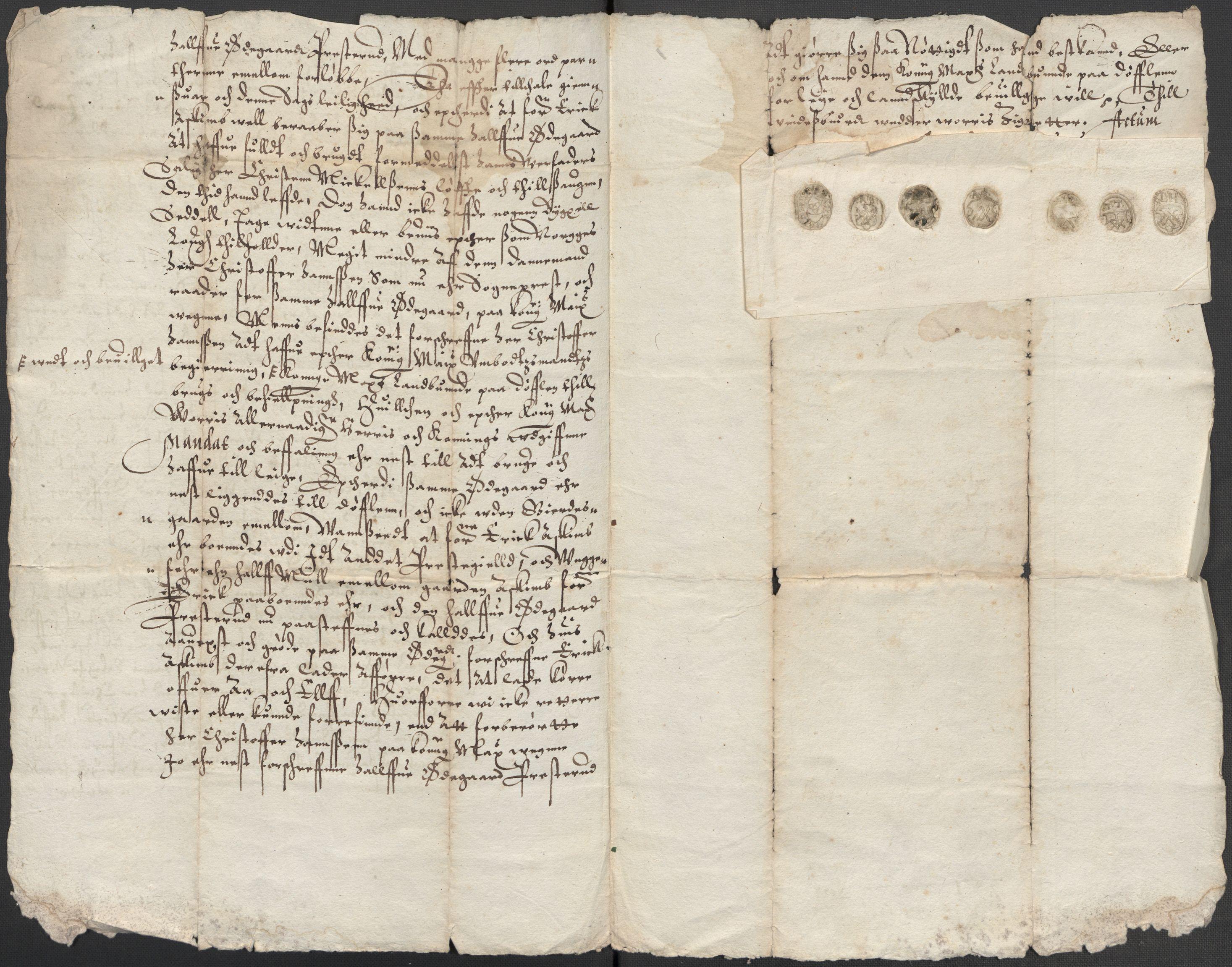 RA, Riksarkivets diplomsamling, F15/L0021: Prestearkiv - Vestfold, 1573-1858, s. 192