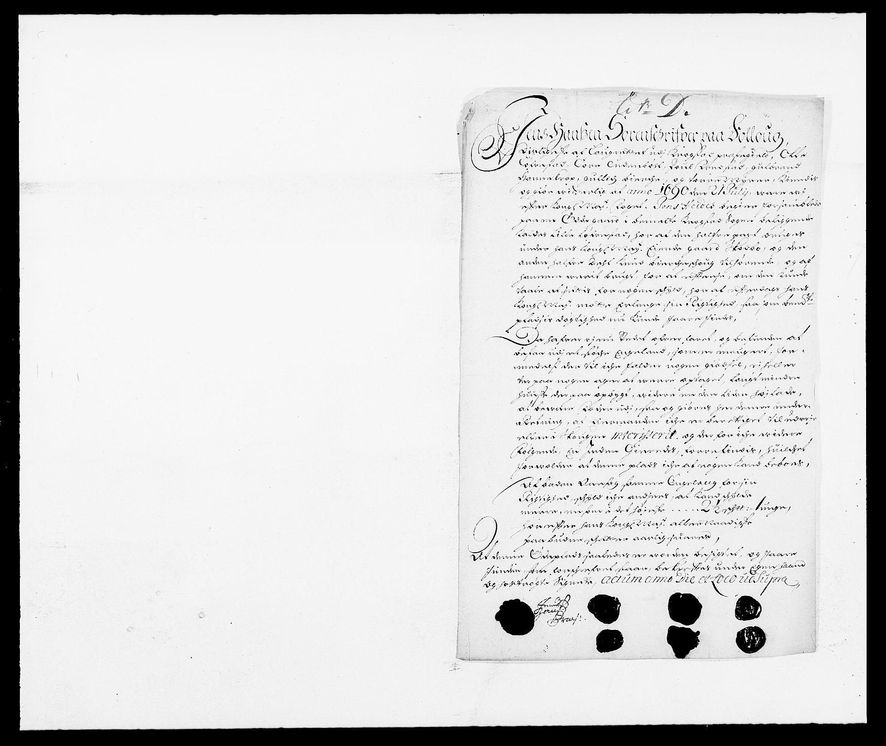RA, Rentekammeret inntil 1814, Reviderte regnskaper, Fogderegnskap, R09/L0435: Fogderegnskap Follo, 1689-1691, s. 355