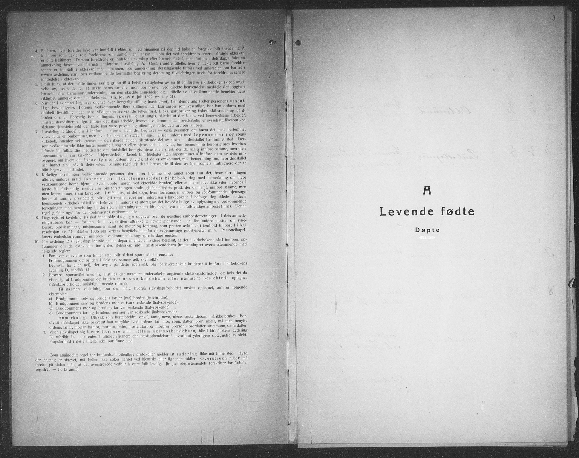 SAT, Ministerialprotokoller, klokkerbøker og fødselsregistre - Møre og Romsdal, 545/L0590: Klokkerbok nr. 545C04, 1931-1937, s. 3