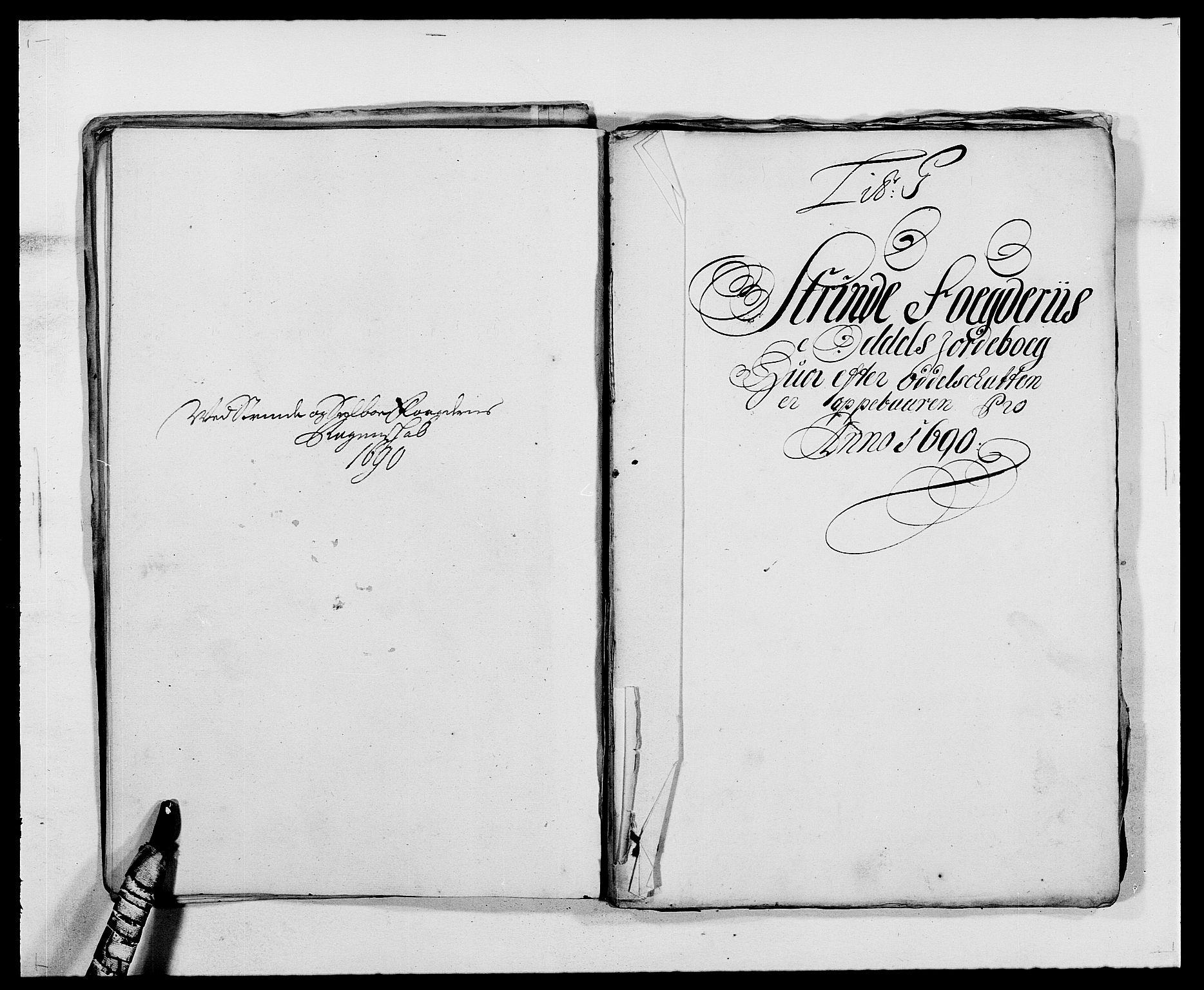 RA, Rentekammeret inntil 1814, Reviderte regnskaper, Fogderegnskap, R61/L4102: Fogderegnskap Strinda og Selbu, 1689-1690, s. 192