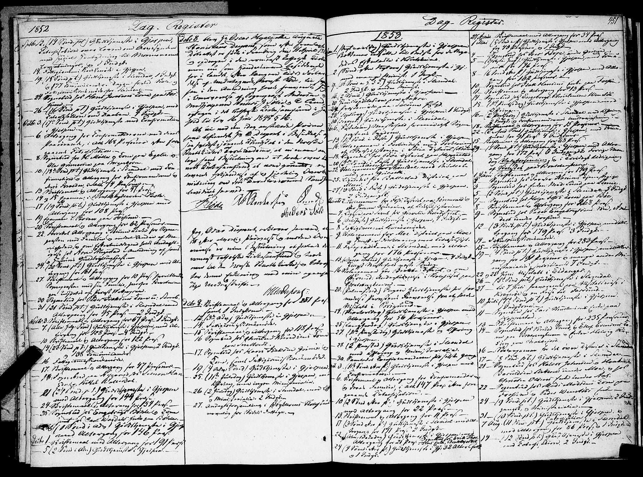 SAKO, Gjerpen kirkebøker, F/Fa/L0007b: Ministerialbok nr. 7B, 1834-1857, s. 451